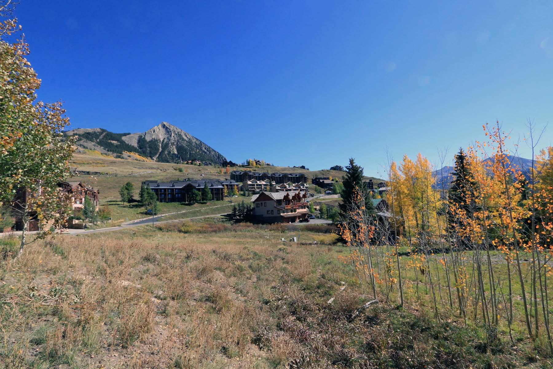 Terreno por un Venta en Bear Crossing 14 Castle Road Mount Crested Butte, Colorado 81225 Estados Unidos
