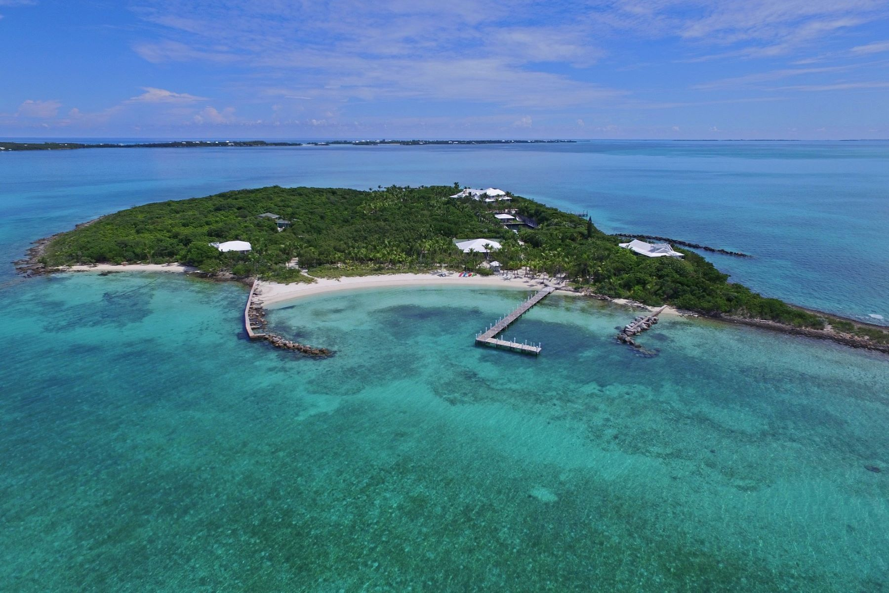 Private Island for Sale at Foot's Cay Guana Cay, Abaco Bahamas