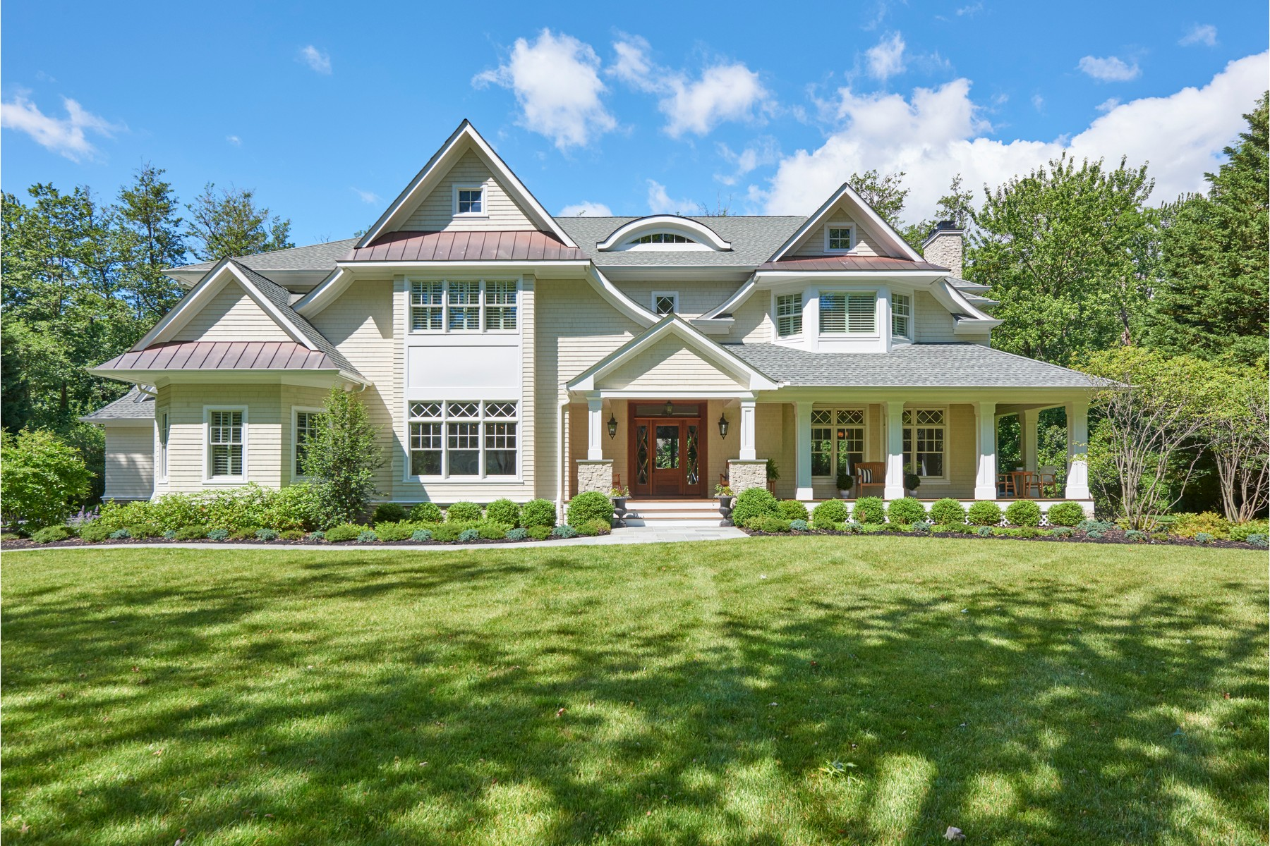 Single Family Homes for Sale at SHEER PERFECTION 8 Heathcliff Road Rumson, New Jersey 07760 United States