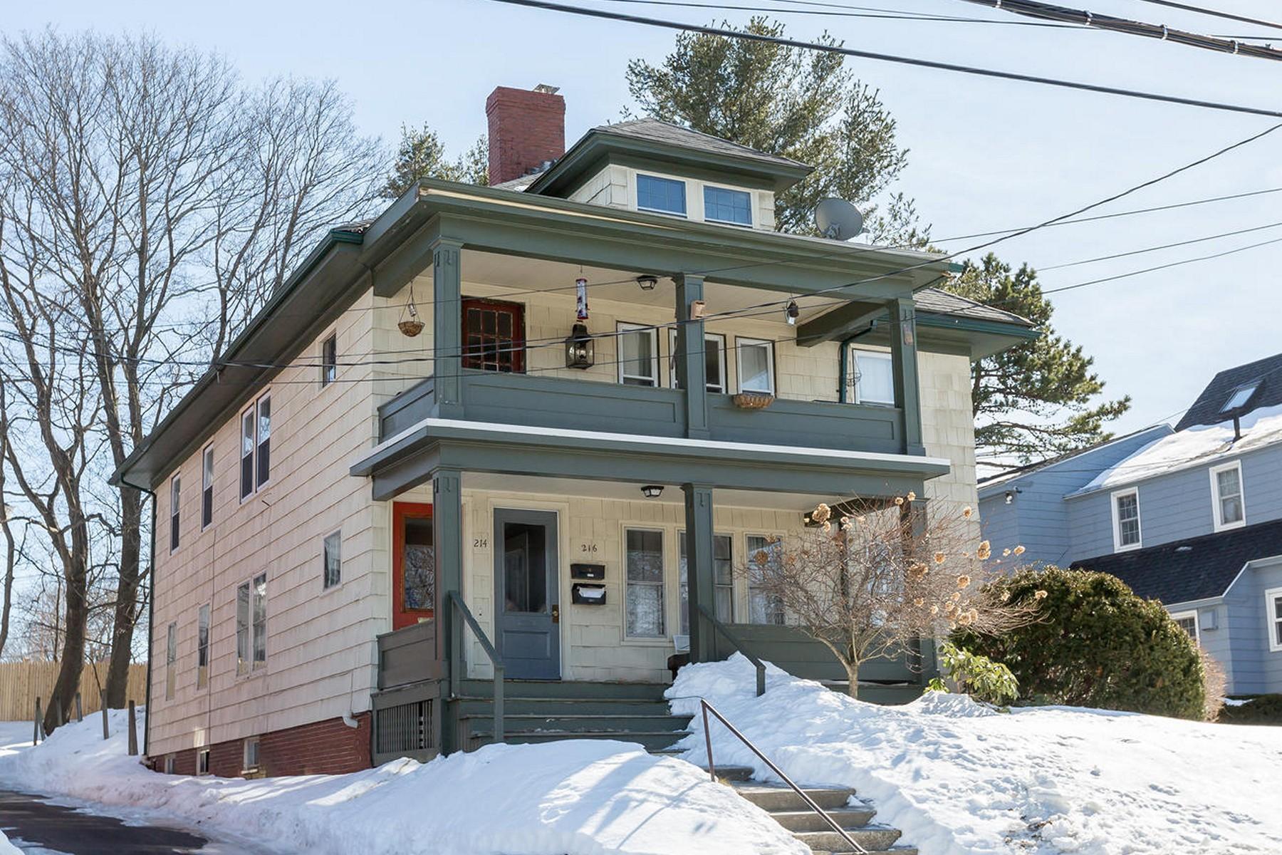 Duplex for Sale at Darmouth Street 214-216 Dartmouth Street Portland, Maine, 04103 United States
