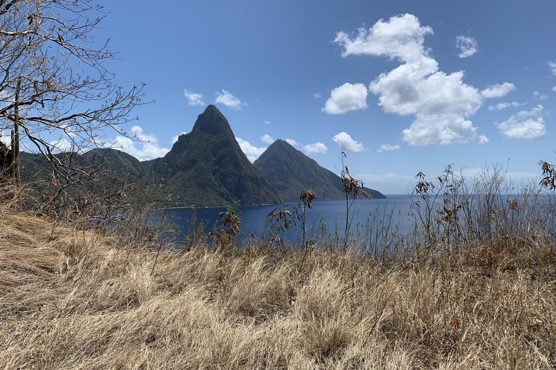 Land for Sale at Land for Sale with Ocean and Piton Views Other Soufriere, Soufriere St. Lucia
