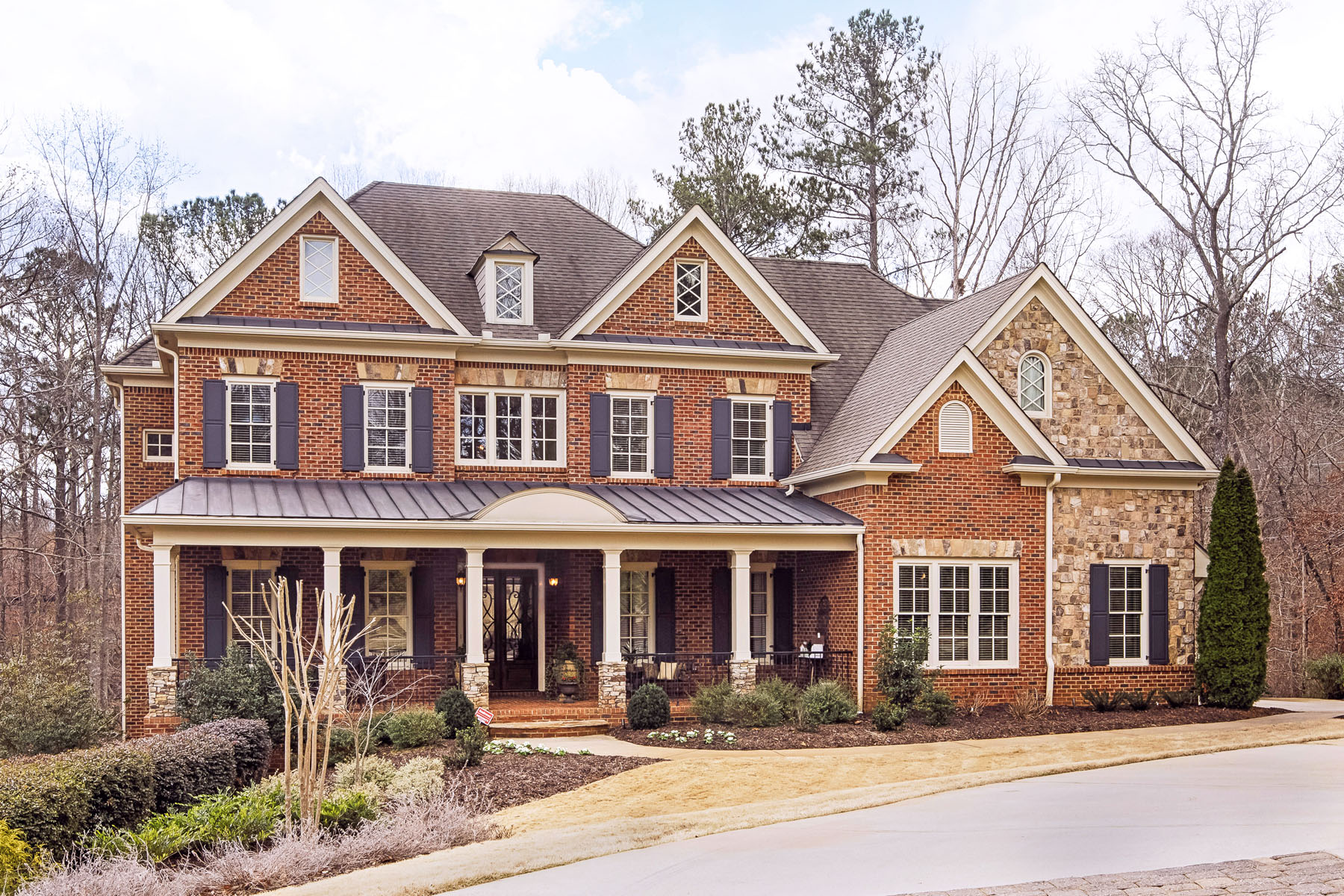 Single Family Home for Sale at Secluded Privacy in a 1.55 +/- Acre Mountain-like Setting 1380 Cashiers Way Roswell, Georgia, 30075 United States