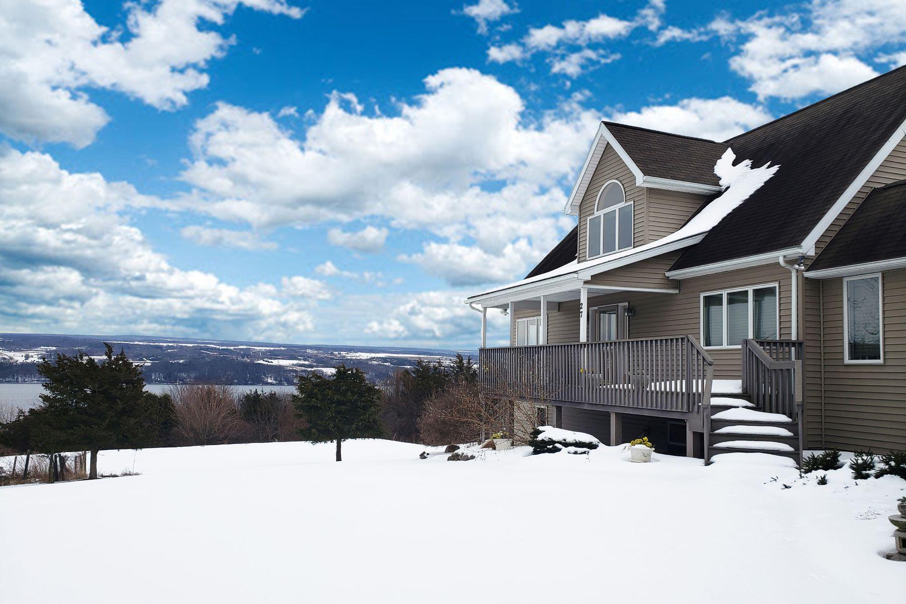 Single Family Homes for Sale at Indulgence on Seneca Lake 27 Buttonwood Lane Starkey, New York 14837 United States