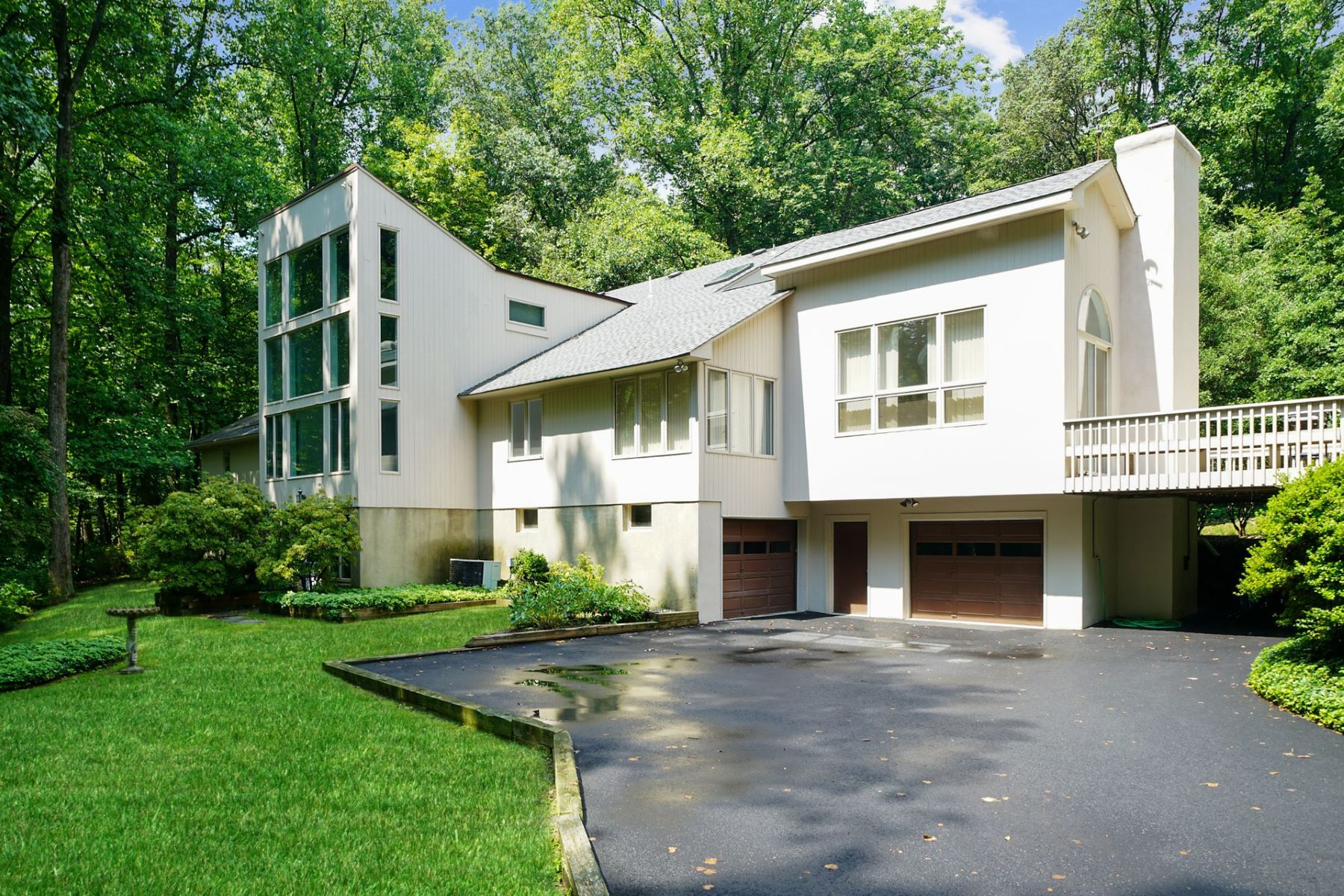 Single Family Homes por un Venta en Custom Contemporary 10 Calais Road Mendham, Nueva Jersey 07945 Estados Unidos
