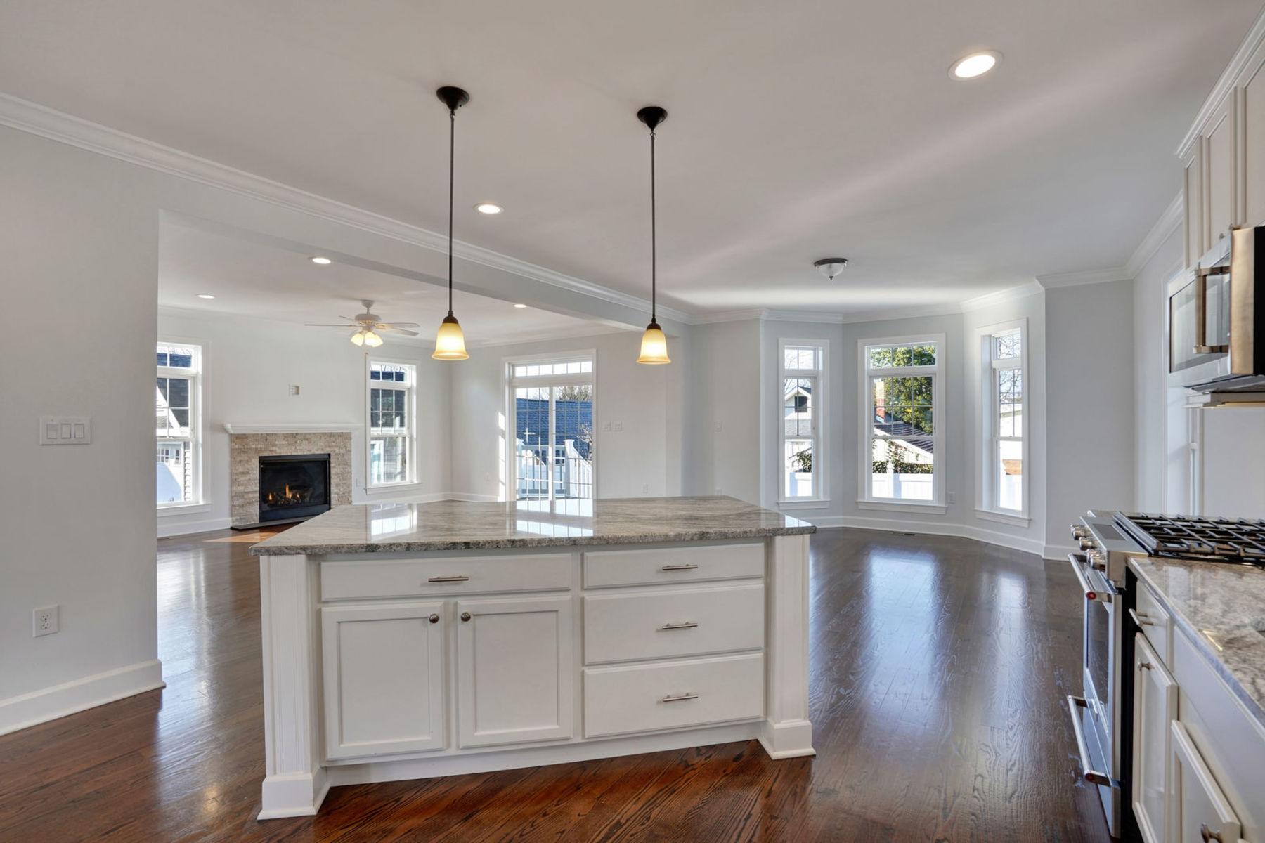 Maison unifamiliale pour l Vente à New Construction With Open Floor Plan 512 16th Ave, Belmar, New Jersey 07719 États-Unis