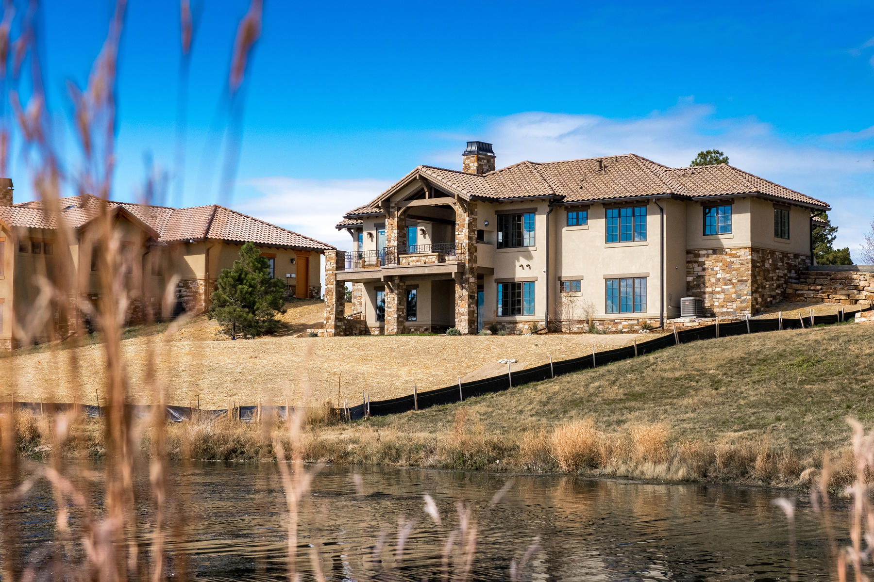 Additional photo for property listing at Pikes Peak view from this cozy lake front home! 7300 Prairie Star Ct Parker, Colorado 80134 United States