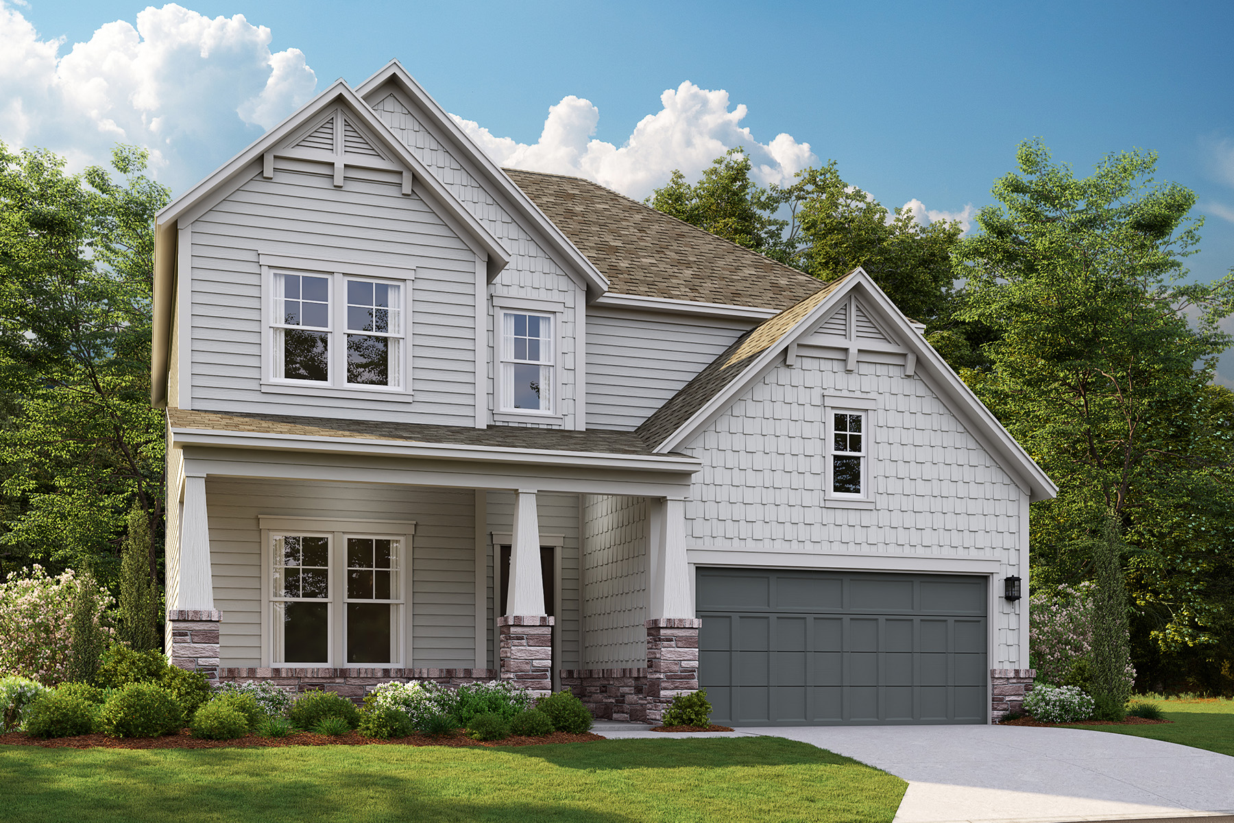 Single Family Homes for Sale at Discover The Enclave at Belvedere 3392 Alcan Way Tucker, Georgia 30084 United States