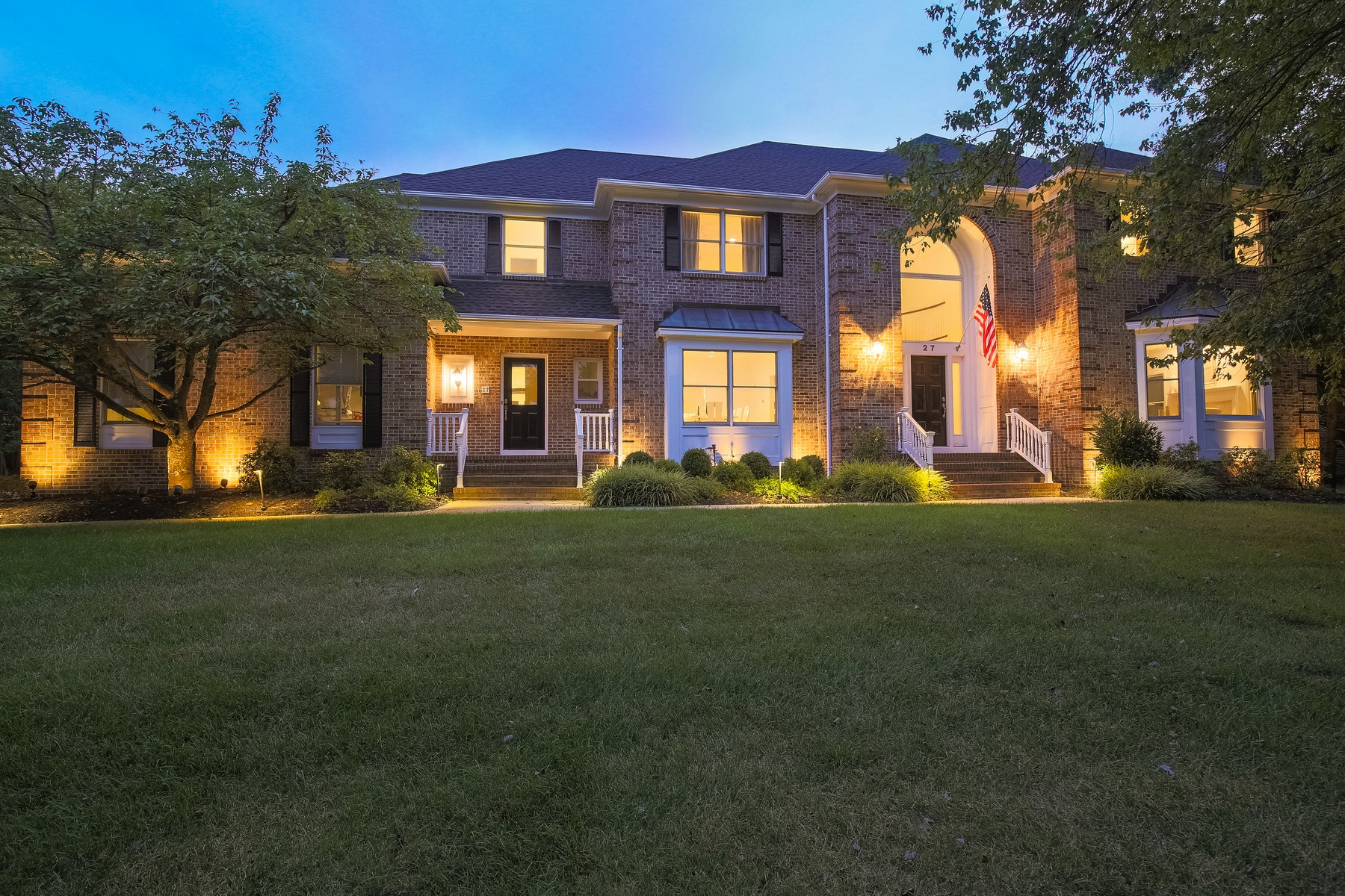Single Family Home for Sale at Elegant Colonial 27 Running Brook Road Bridgewater, New Jersey, 08807 United States