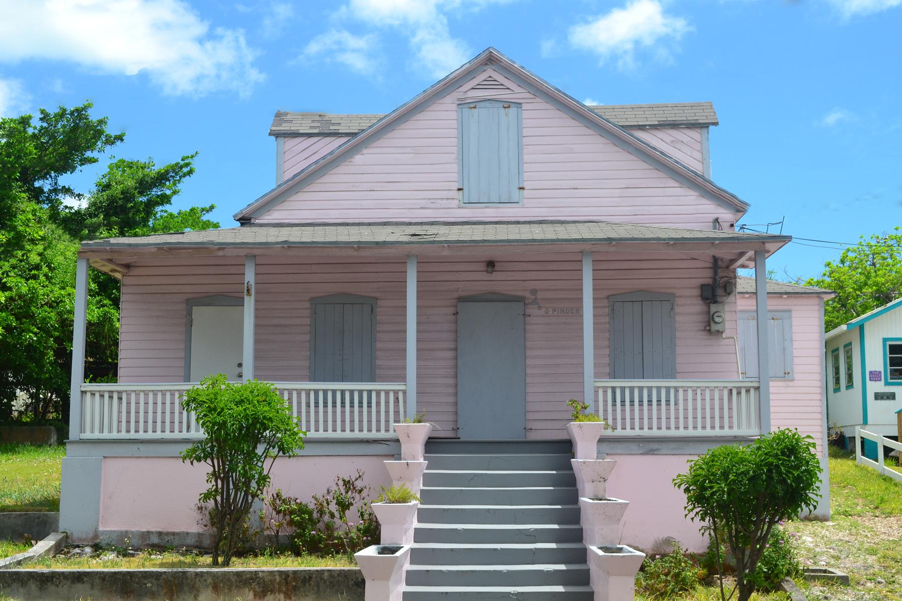 Частный односемейный дом для того Продажа на Almost Heaven Spanish Wells, Эльютера, Багамские Острова