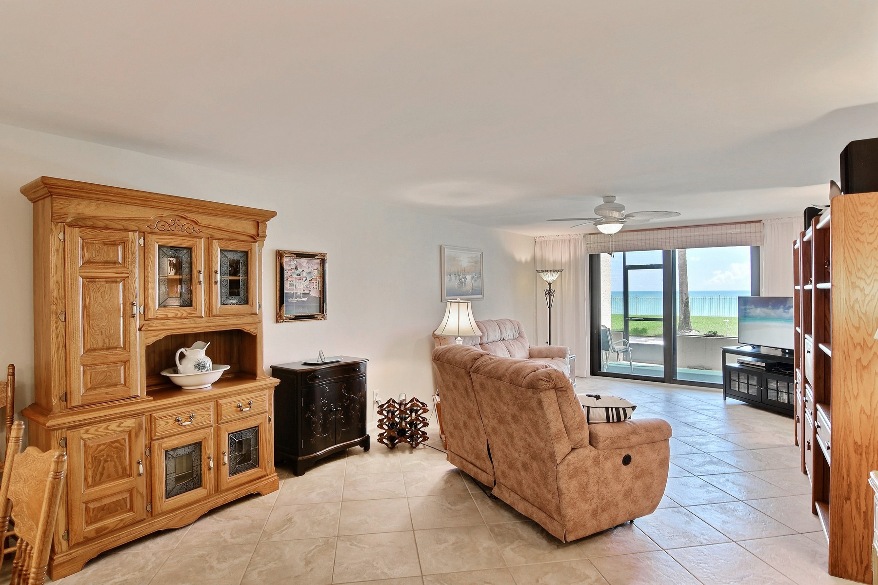 Property for Sale at Direct Oceanfront Opulent Pet Friendly Three Bedroom with Garage 4800 Highway A1A #116 Vero Beach, Florida 32963 United States