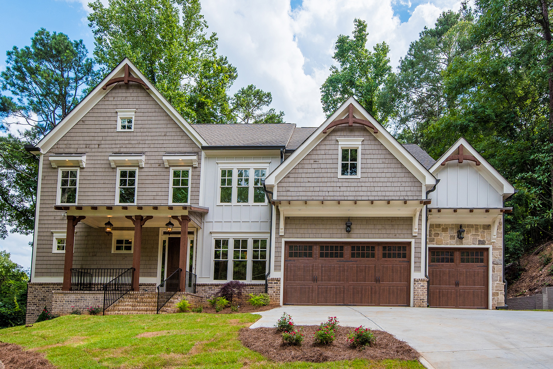 Single Family Home for Sale at Vinings Best New Construction 3446 Cochise Drive Atlanta, Georgia 30339 United States
