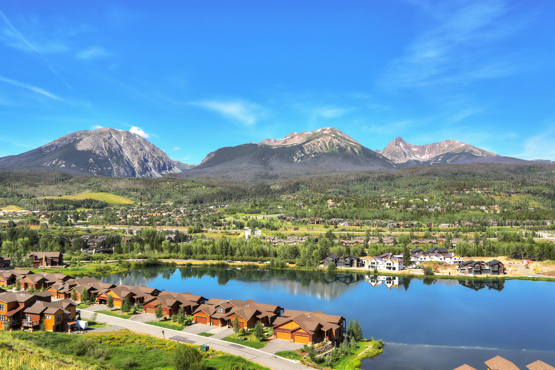 Duplex Homes for Sale at Lot 13 in Waters at Silver Trout 576 Fly Line Drive Silverthorne, Colorado 80498 United States