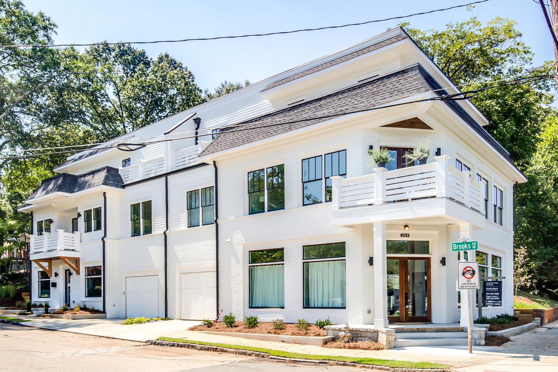 townhouses por un Venta en Uber Cool, One Of A Kind In The Heart Of Candler Park 376 Brooks Avenue, Atlanta, Georgia 30307 Estados Unidos