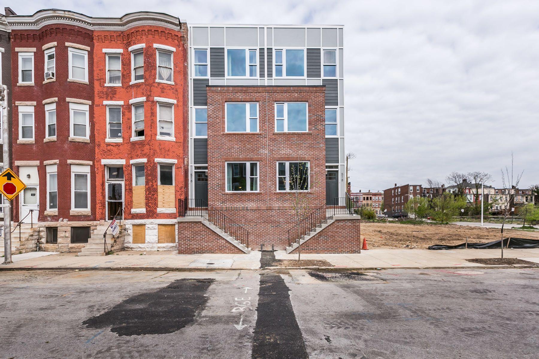 townhouses のために 売買 アット Barclay 516 East 21st Street, Baltimore, メリーランド 21218 アメリカ