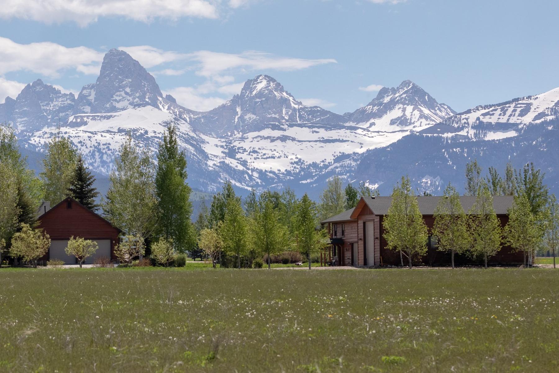 Single Family Homes for Sale at 4662 Brown Drake Cir Tetonia, Idaho 83452 United States