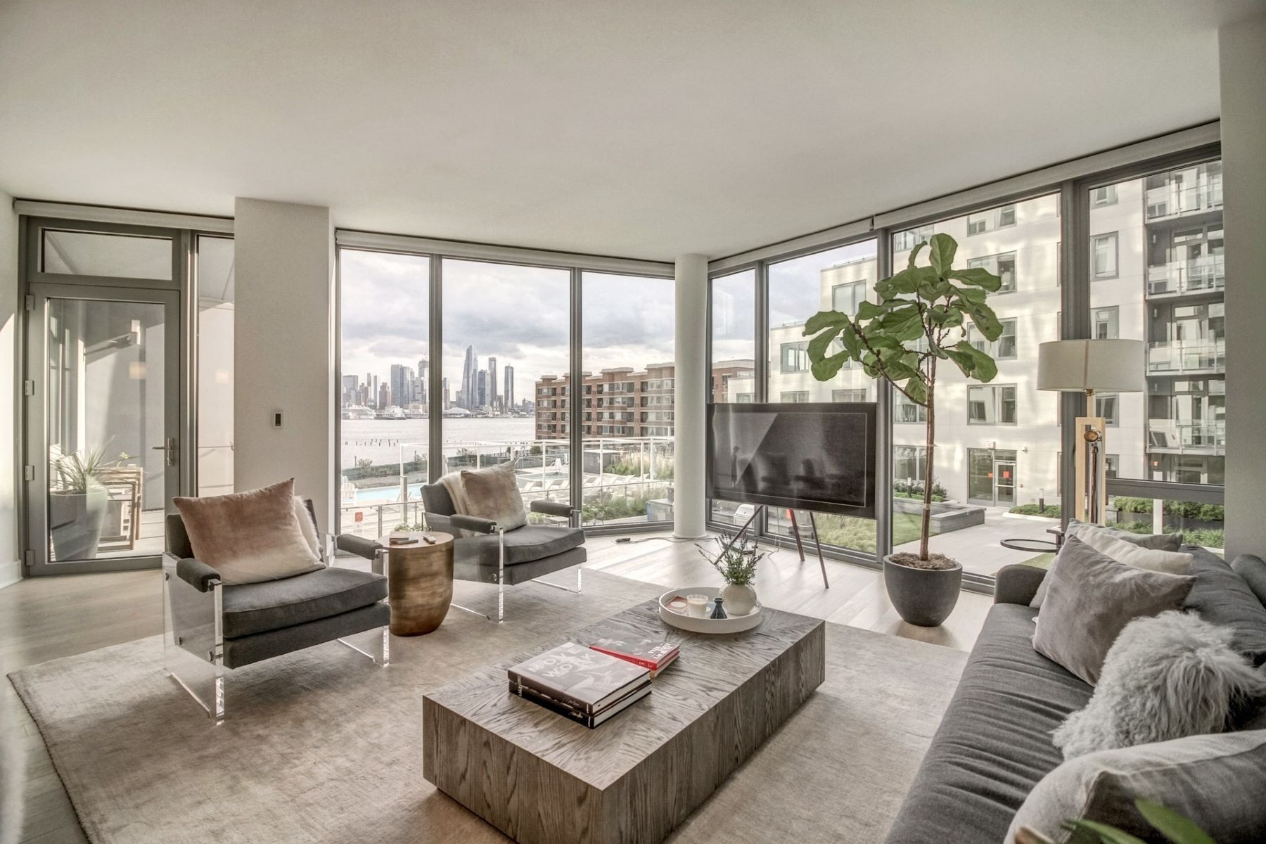 Condominium for Sale at Nine on The Hudson 9 Avenue at Port Imperial #1001, West New York, New Jersey 07093 United States