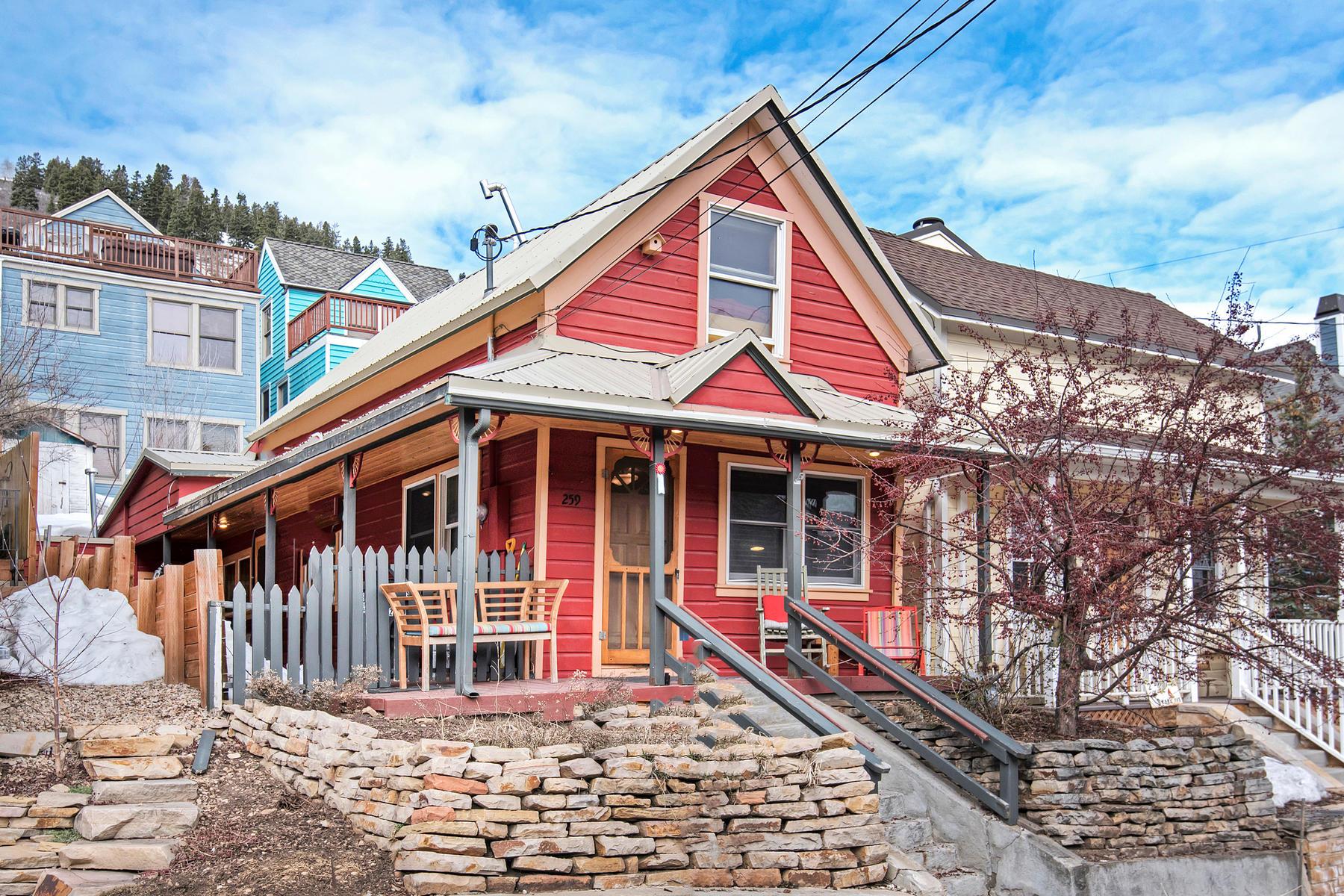 Частный односемейный дом для того Продажа на Rebuilt Historic Home Steps to Main Street & Ski Slopes 259 Park Ave Park City, Юта, 84060 Соединенные Штаты