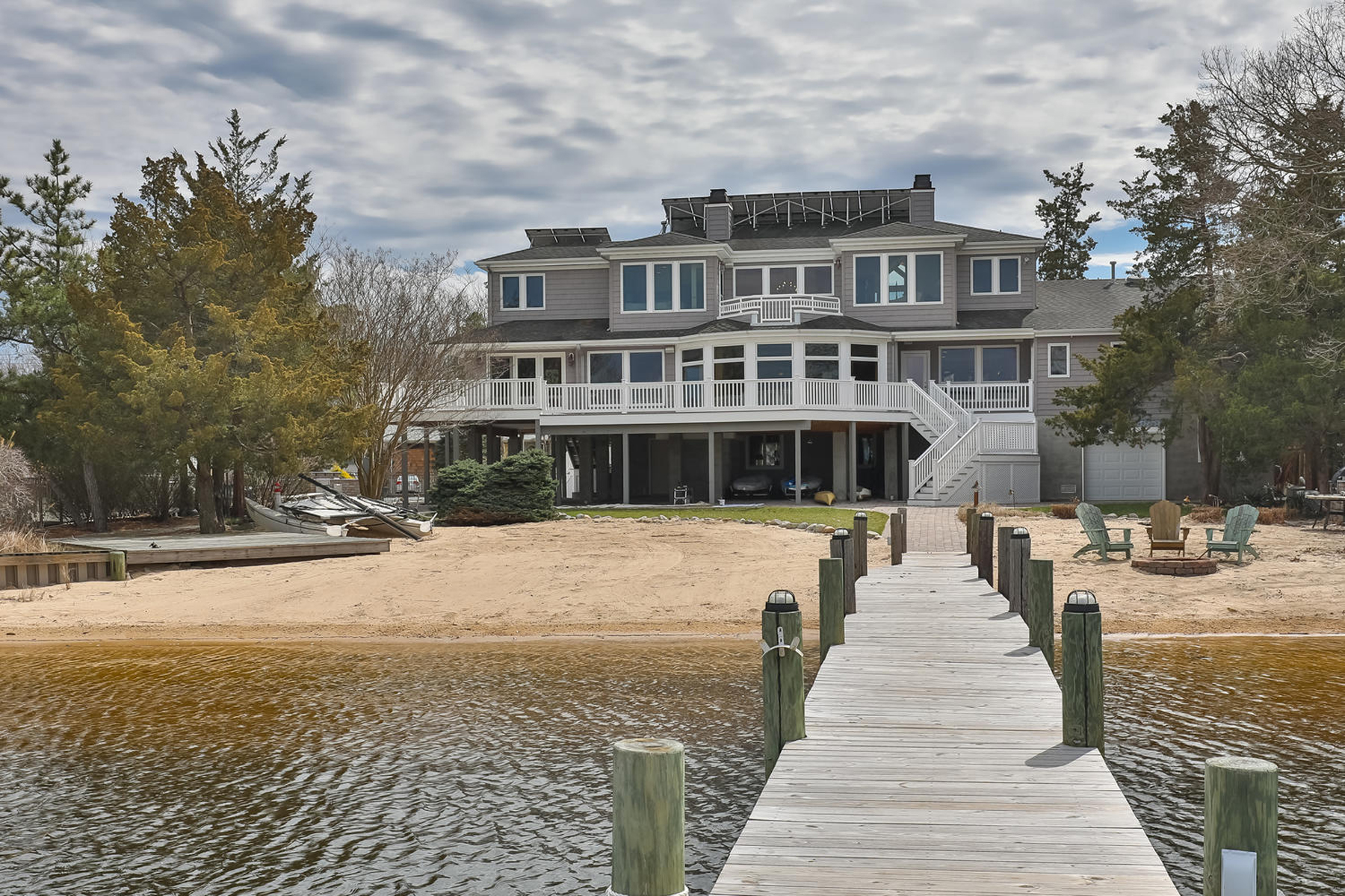 Single Family Home for Sale at Spectacular Shore Colonial On @ One Half Acre 66 Shorewood Drive Bayville, 08721 United States
