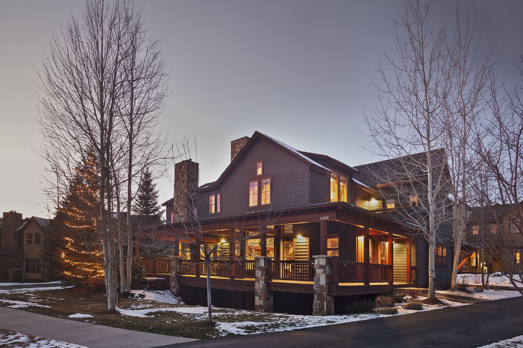 Townhouse for Sale at Porches Luxury Home 2069 Indian Summer Drive Steamboat Springs, Colorado 80487 United States