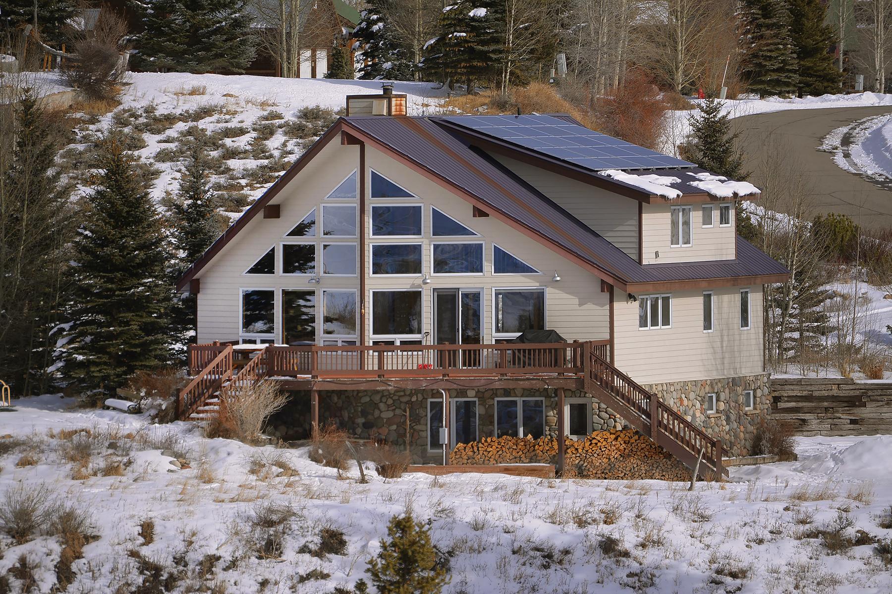단독 가정 주택 용 매매 에 Expansive Home On Amazing Lot 522 Shavano Street, Crested Butte, 콜로라도, 81224 미국