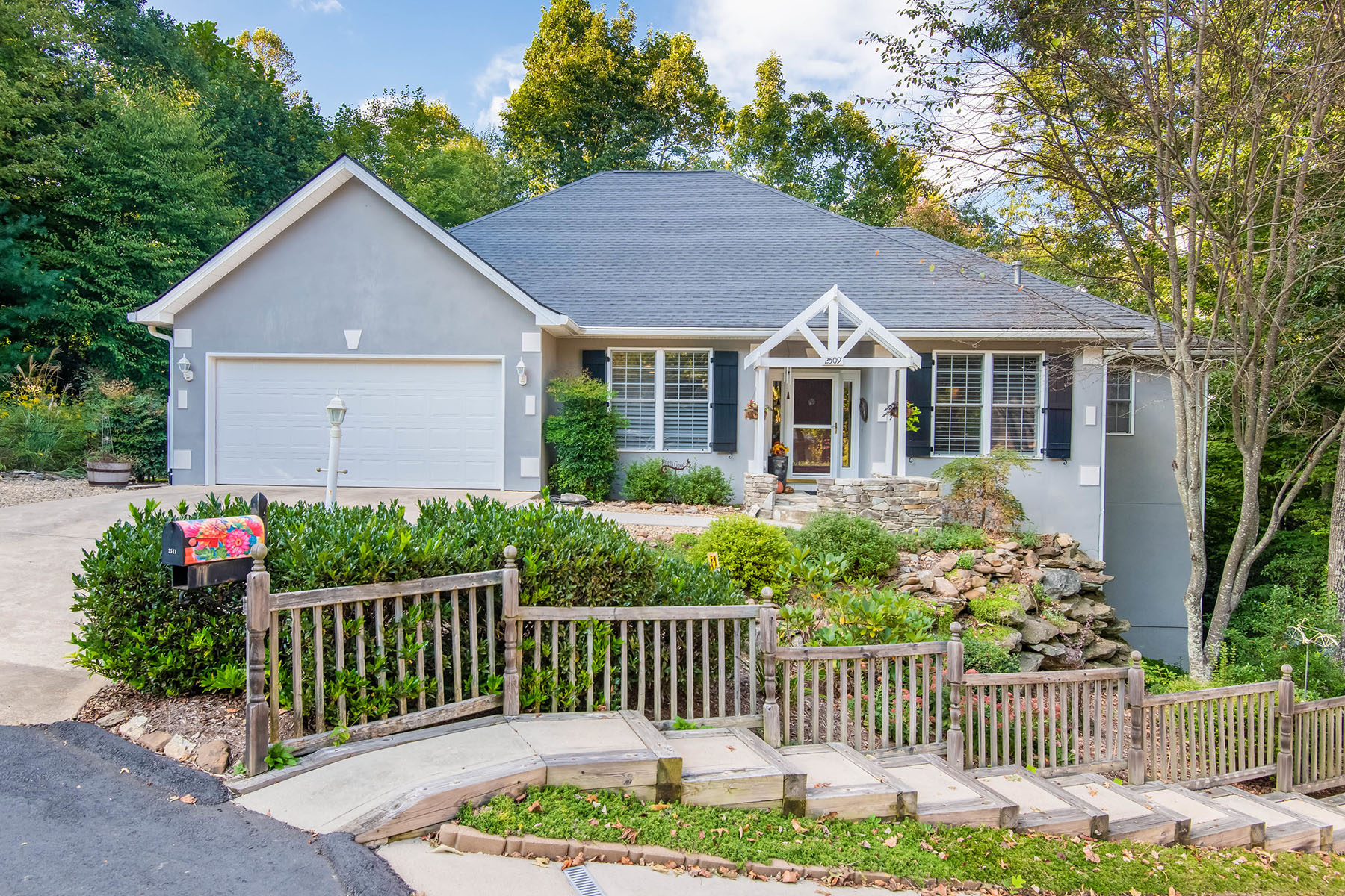 Single Family Homes for Sale at CARRIAGE PARK 2509 Carriage Falls Ct Hendersonville, North Carolina 28791 United States
