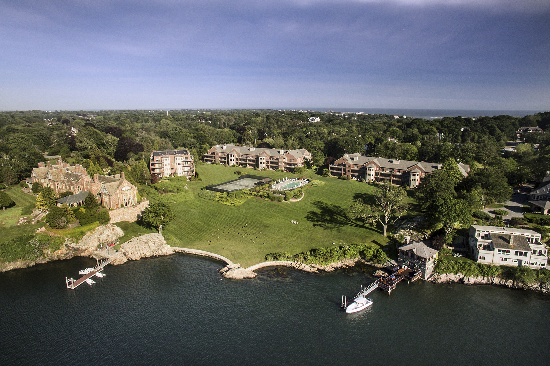 Condominium for Sale at Bonniecrest 111 Harrison Avenue B7 Newport, Rhode Island 02840 United States