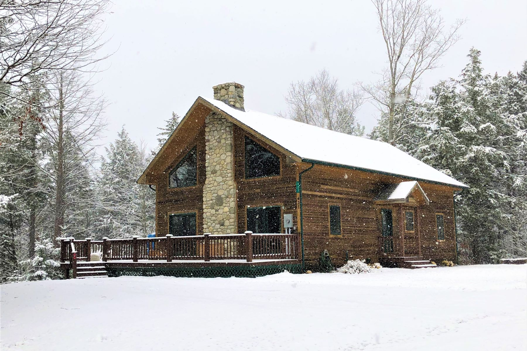 Single Family Homes for Sale at Ski Home On Burke Mountain 427 High Meadow Rd Burke, Vermont 05832 United States