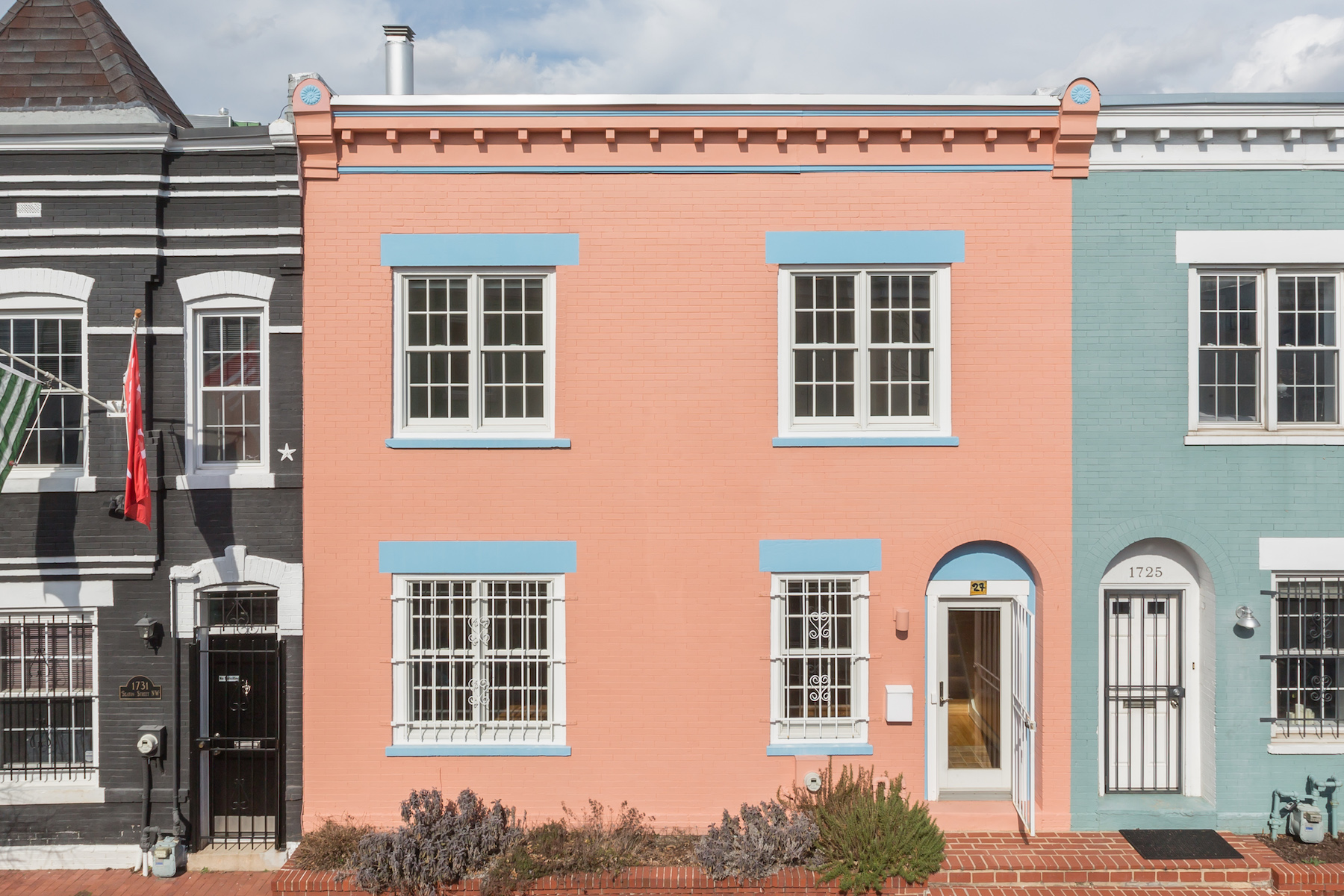 Townhouse for Sale at Adams Morgan 1727 Seaton Street Nw Washington, District Of Columbia, 20009 United States