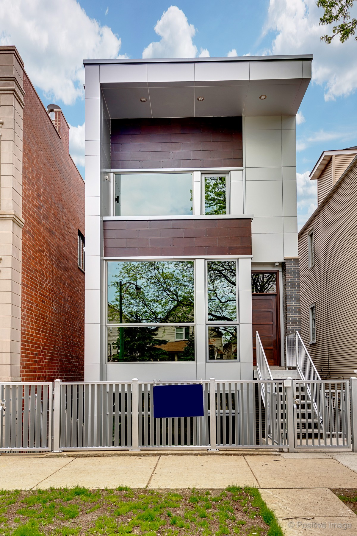 Частный односемейный дом для того Продажа на Lakeview New Construction Single Family Home in Burley School District! 1419 W Oakdale Avenue Lakeview, Chicago, Иллинойс, 60657 Соединенные Штаты