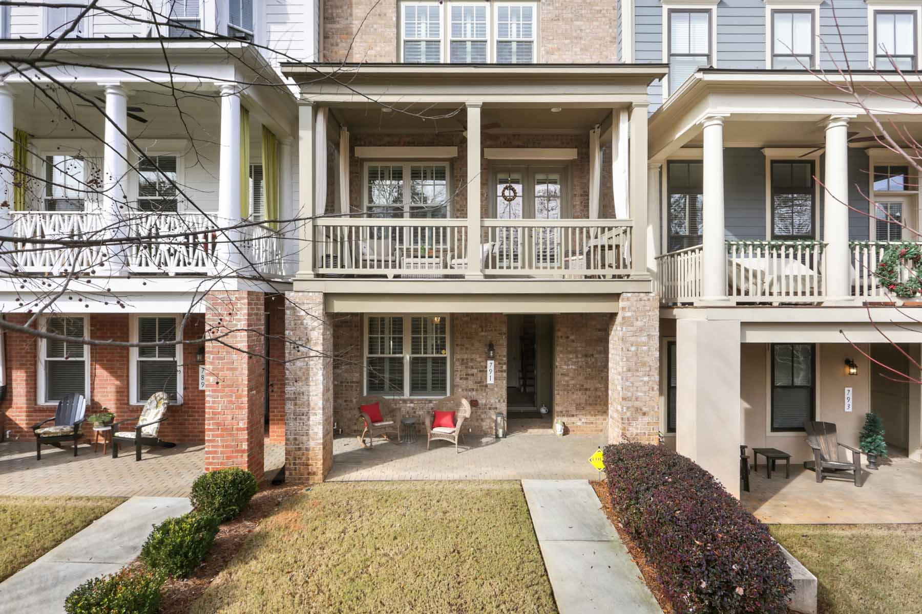 Townhouse for Sale at Stunning Inman Park Townhome Overlooking The Beltline 791 Corduroy Lane Atlanta, Georgia 30312 United States