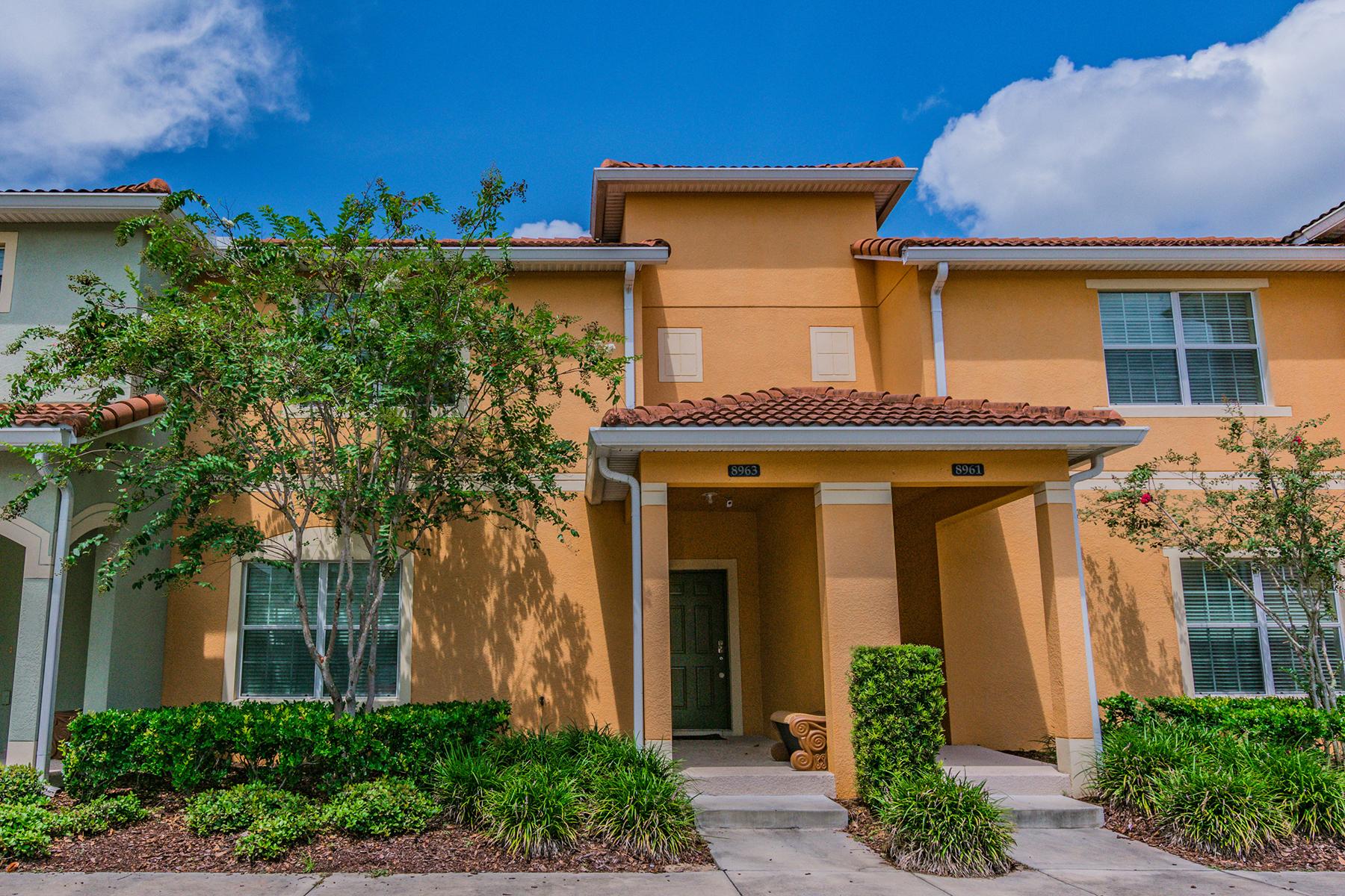 タウンハウス のために 売買 アット KISSIMMEE-ORLANDO 8963 Cat Palm Rd Kissimmee, フロリダ 34747 アメリカ合衆国