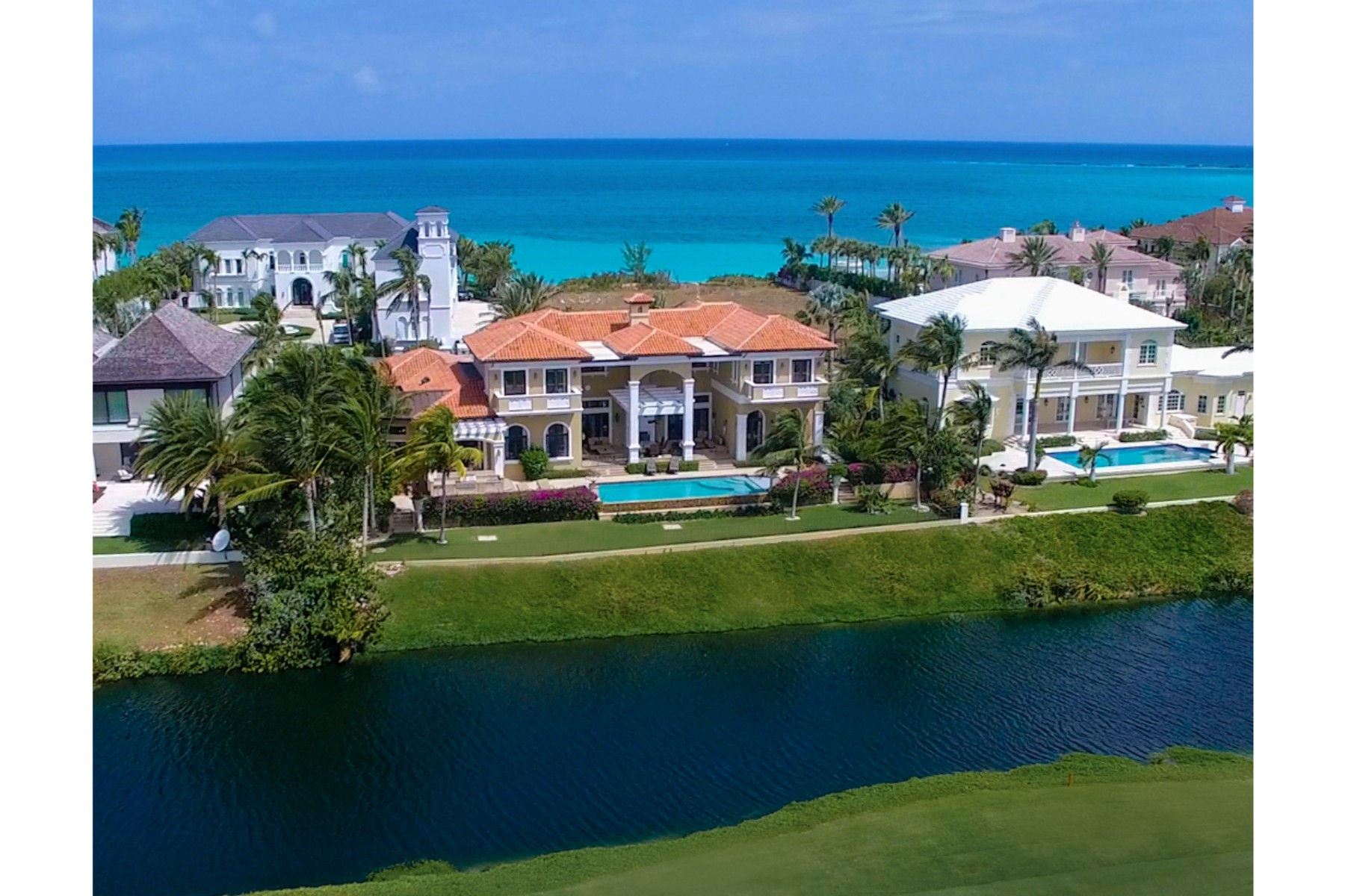 Single Family Home for Sale at 16 Ocean Club Estates Ocean Club Estates, Paradise Island, Nassau And Paradise Island Bahamas