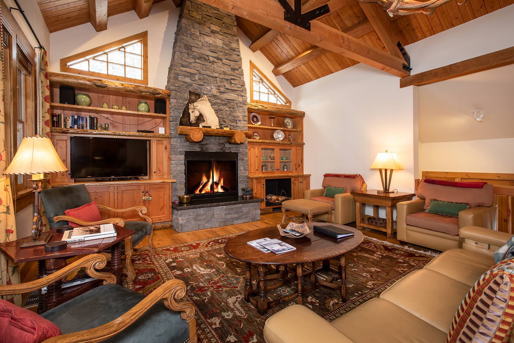 townhouses للـ Sale في Furnished Granite Ridge Homestead Cabin 3070 W ARROWHEAD RD, Teton Village, Wyoming 83025 United States