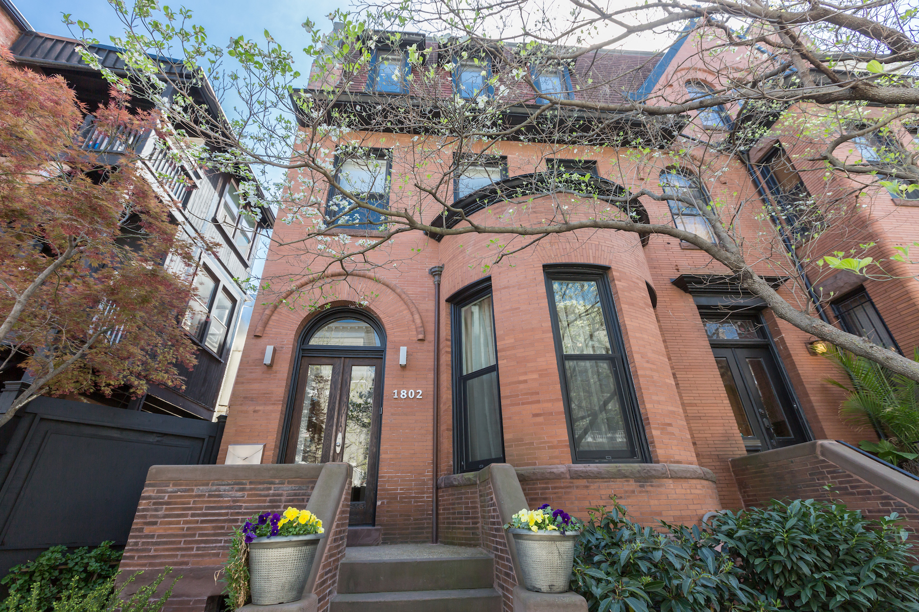 Townhouse for Sale at Adams Morgan 1802 Wyoming Avenue Nw Washington, District Of Columbia, 20009 United States