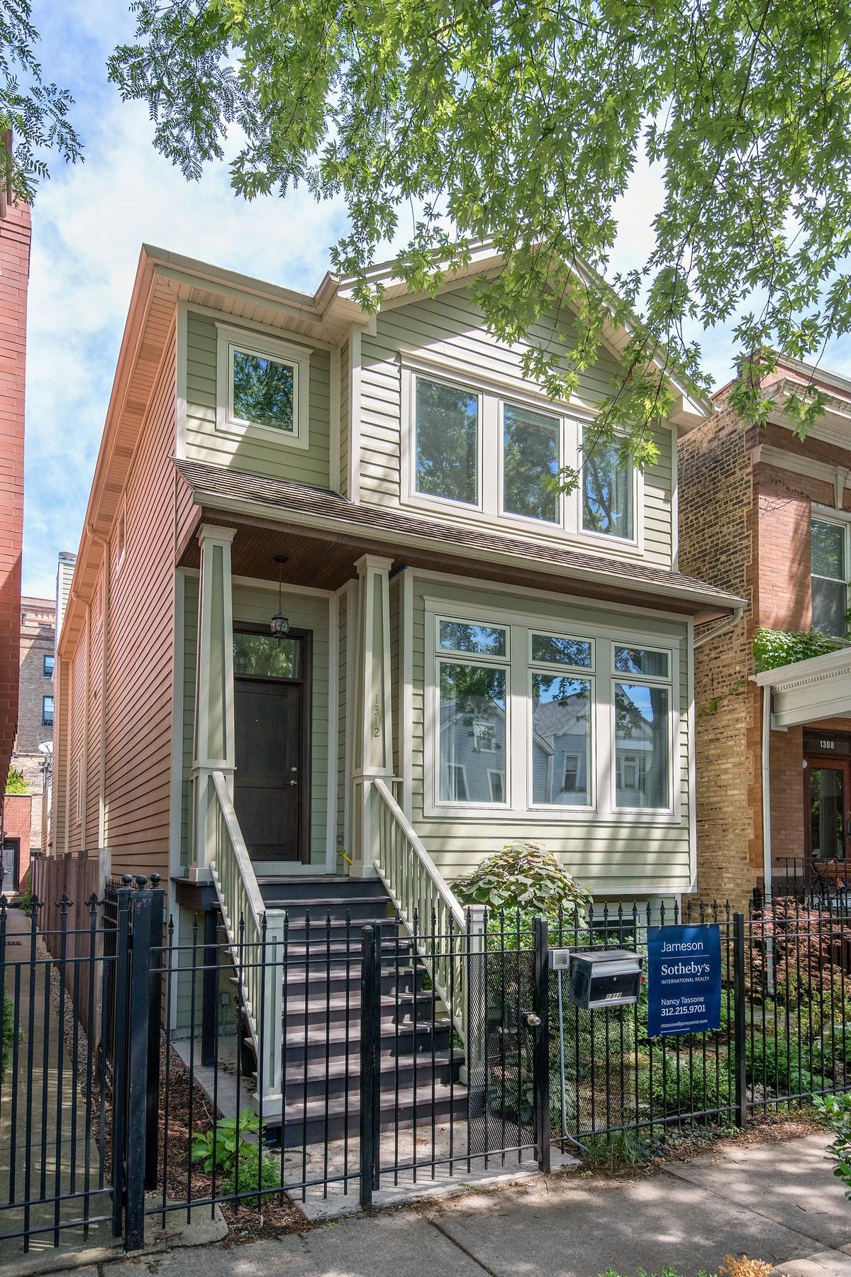 Casa para uma família para Venda às Perfect Lakeview Home In Burley School District! 1312 W Barry Avenue Lakeview, Chicago, Illinois, 60657 Estados Unidos