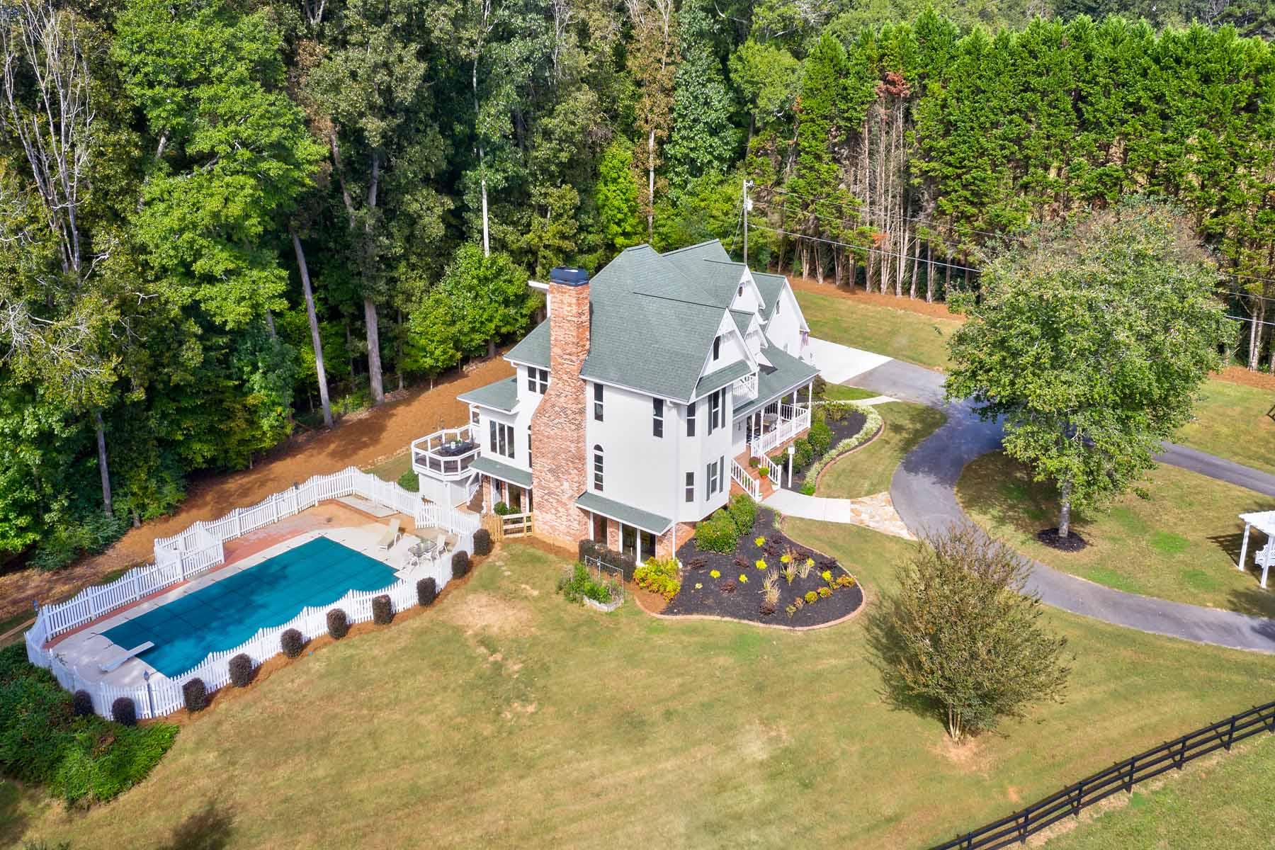 Single Family Home for Sale at Gated Milton Farm 14450 Birmingham Highway Milton, Georgia 30004 United States