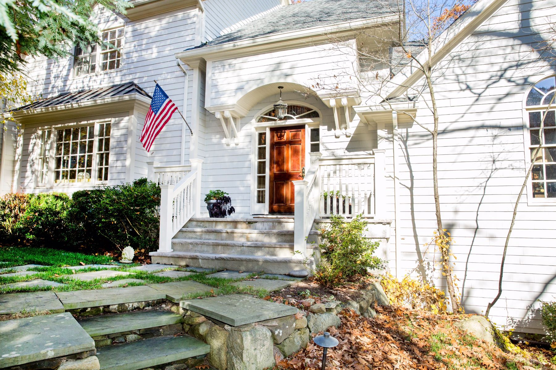 Single Family Home for Rent at Understated Elegance 5 Lookout Stable Road Tuxedo Park, New York 10987 United States