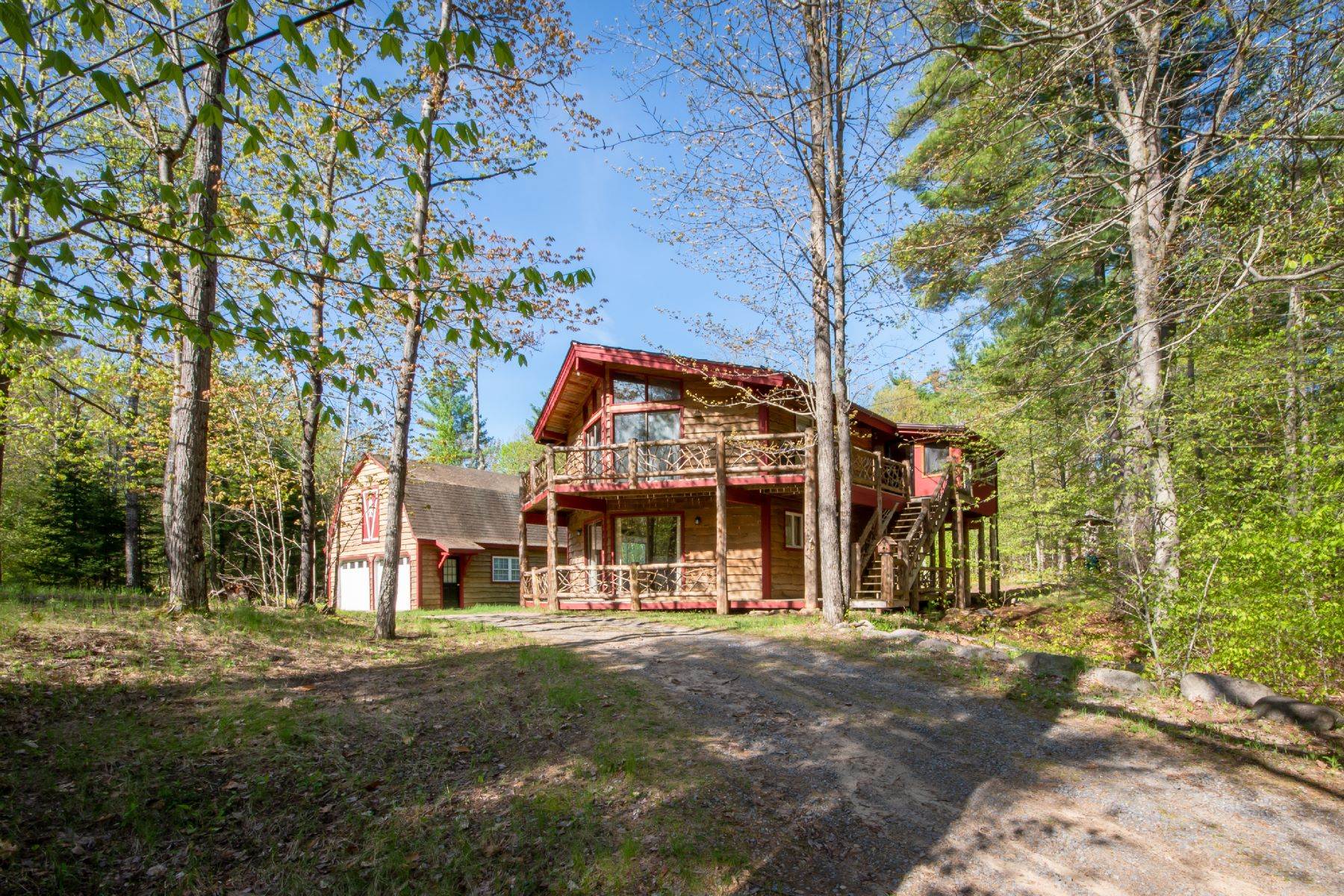 Single Family Homes for Active at Custom Finished Ausable Acres Retreat 46 Gooseberry Lane Jay, New York 12941 United States