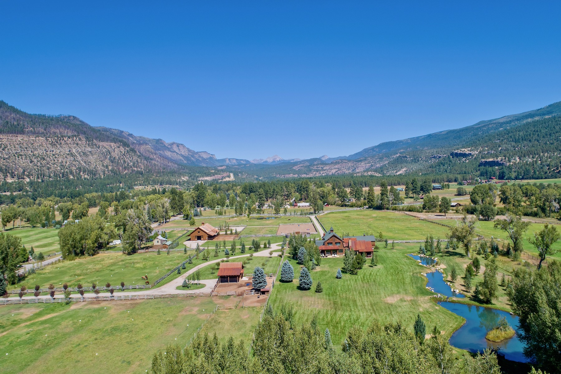 Single Family Homes for Sale at Barn House Ranch 10582 CR 250 Durango, Colorado 81301 United States