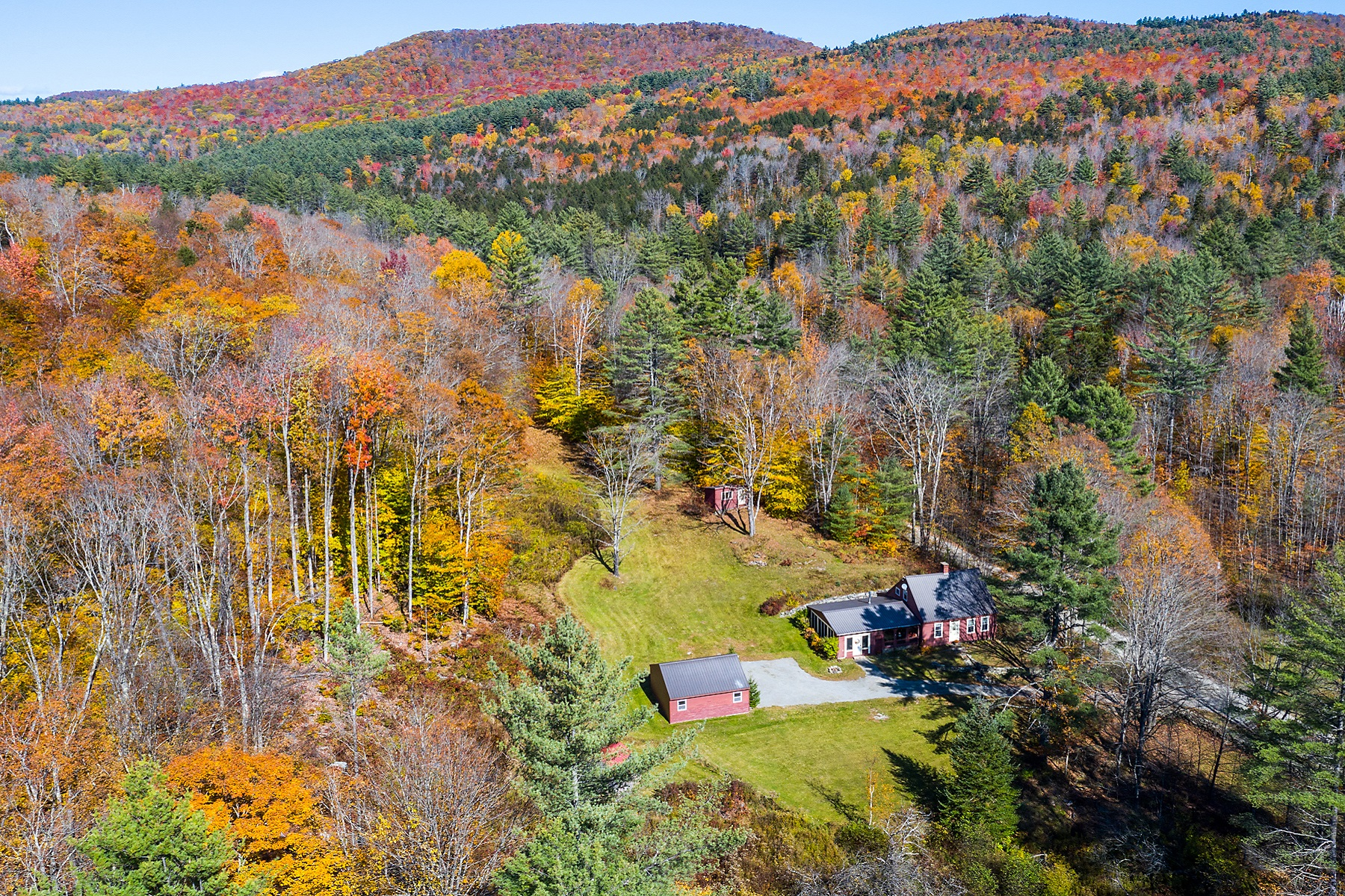 Single Family Homes for Sale at Charming, Convenient & Cozy 1470 Twenty Mile Stream Road Reading, Vermont 05062 United States