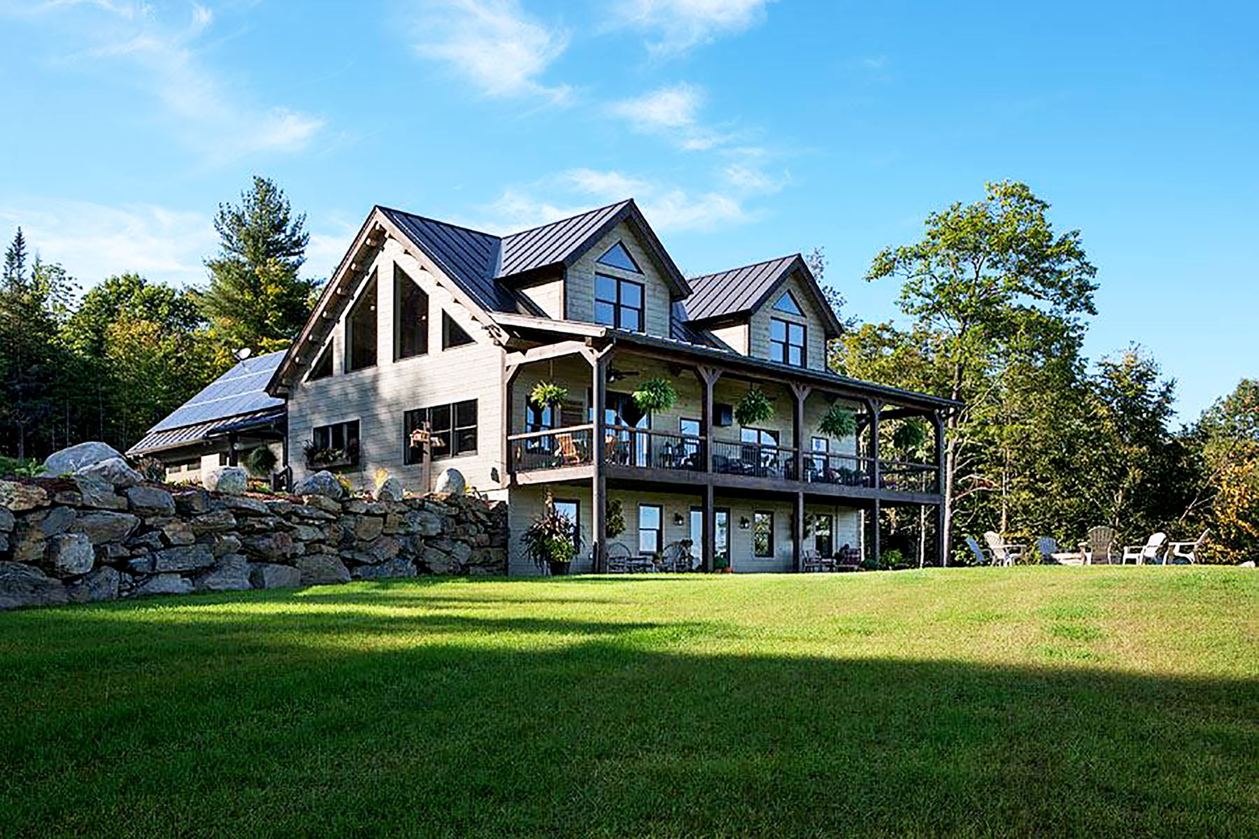 Single Family Homes for Sale at The Boulder 188 Scotch Burn Dr Ryegate, Vermont 05042 United States