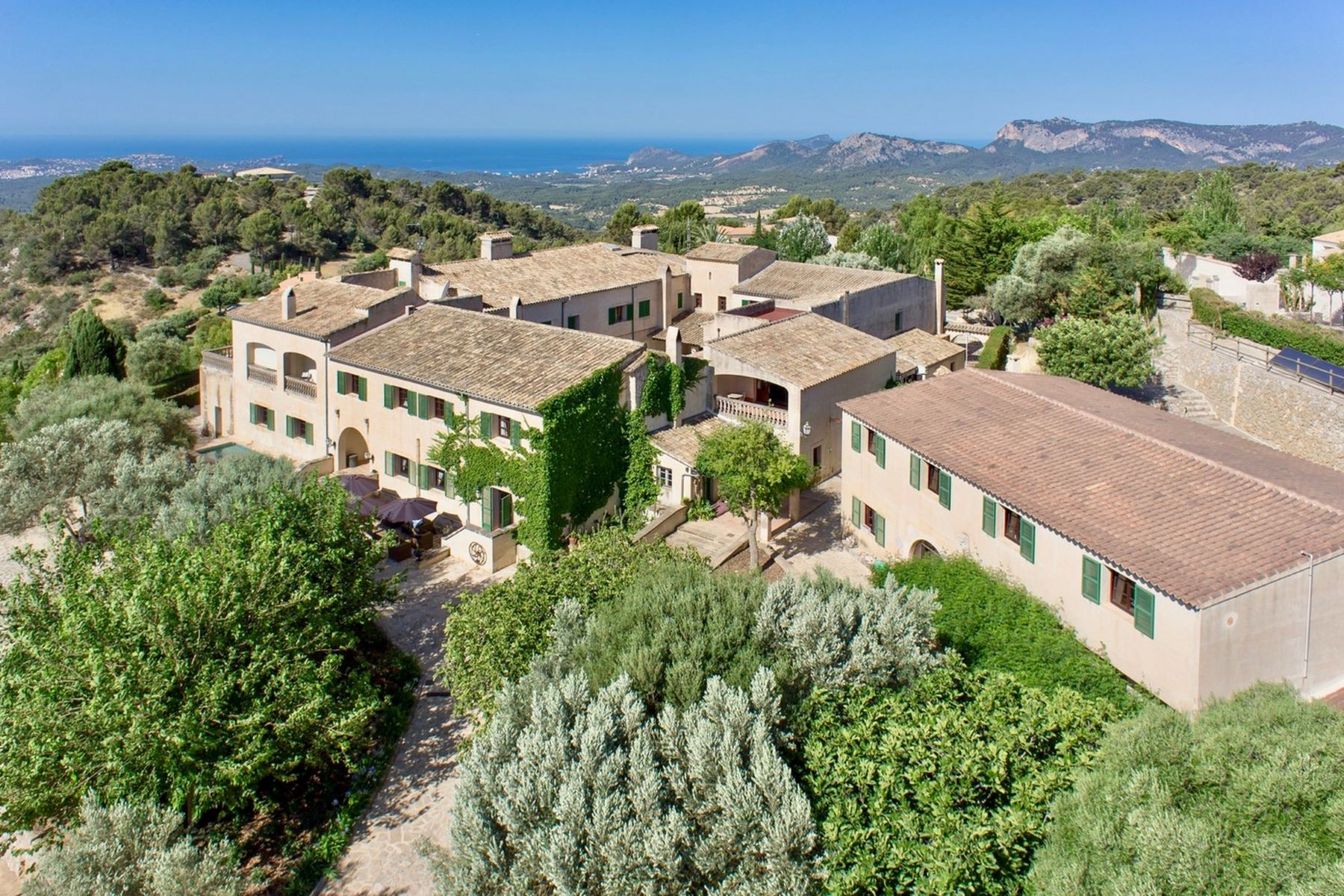 Single Family Homes for Sale at Magnificent property in Calviá with sea views Calvia, Balearic Islands Spain