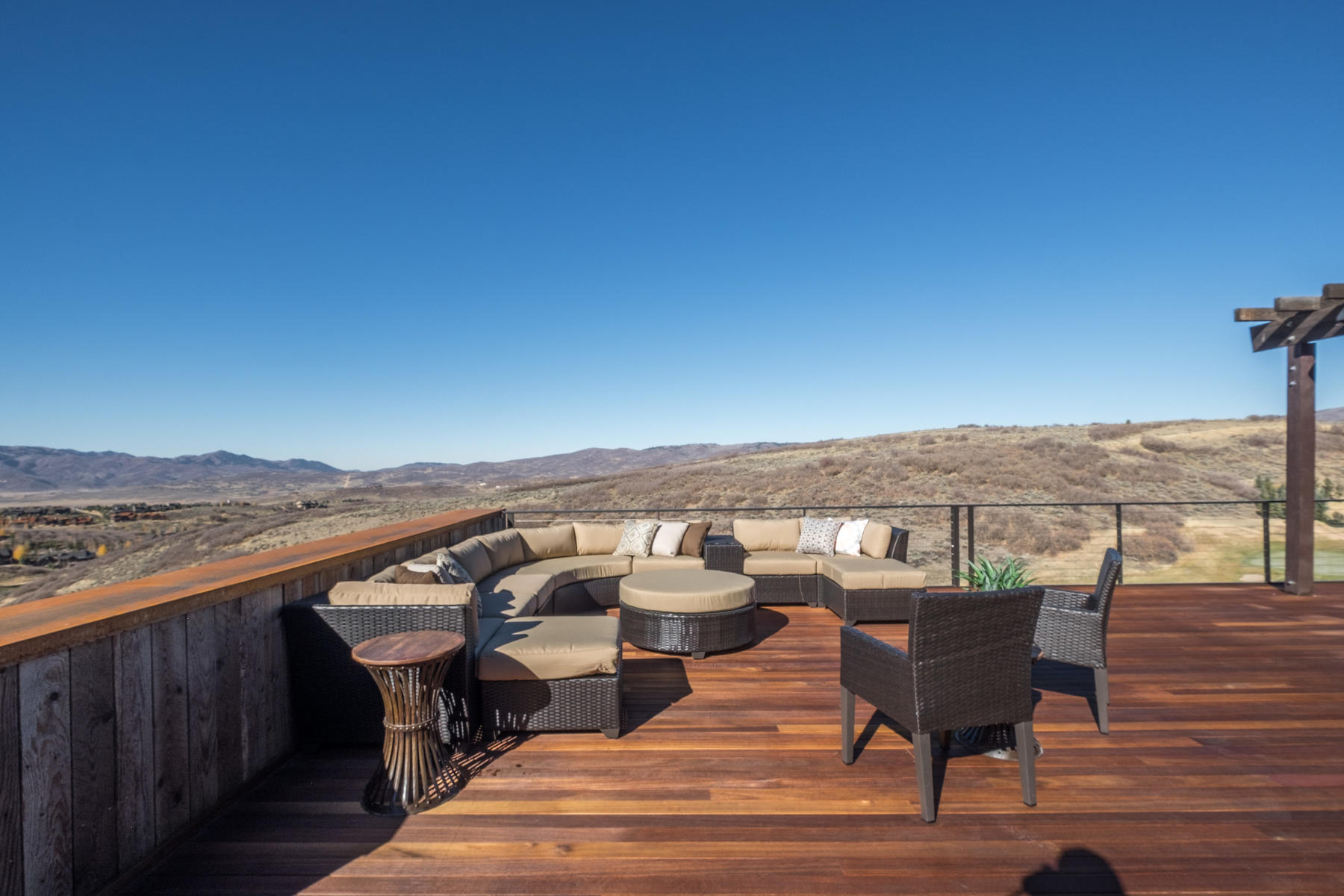 Additional photo for property listing at Best Views in Promontory, One of Clive Bridgwater's Finest 8293 N Ranch Garden Rd Park City, Utah 84098 United States