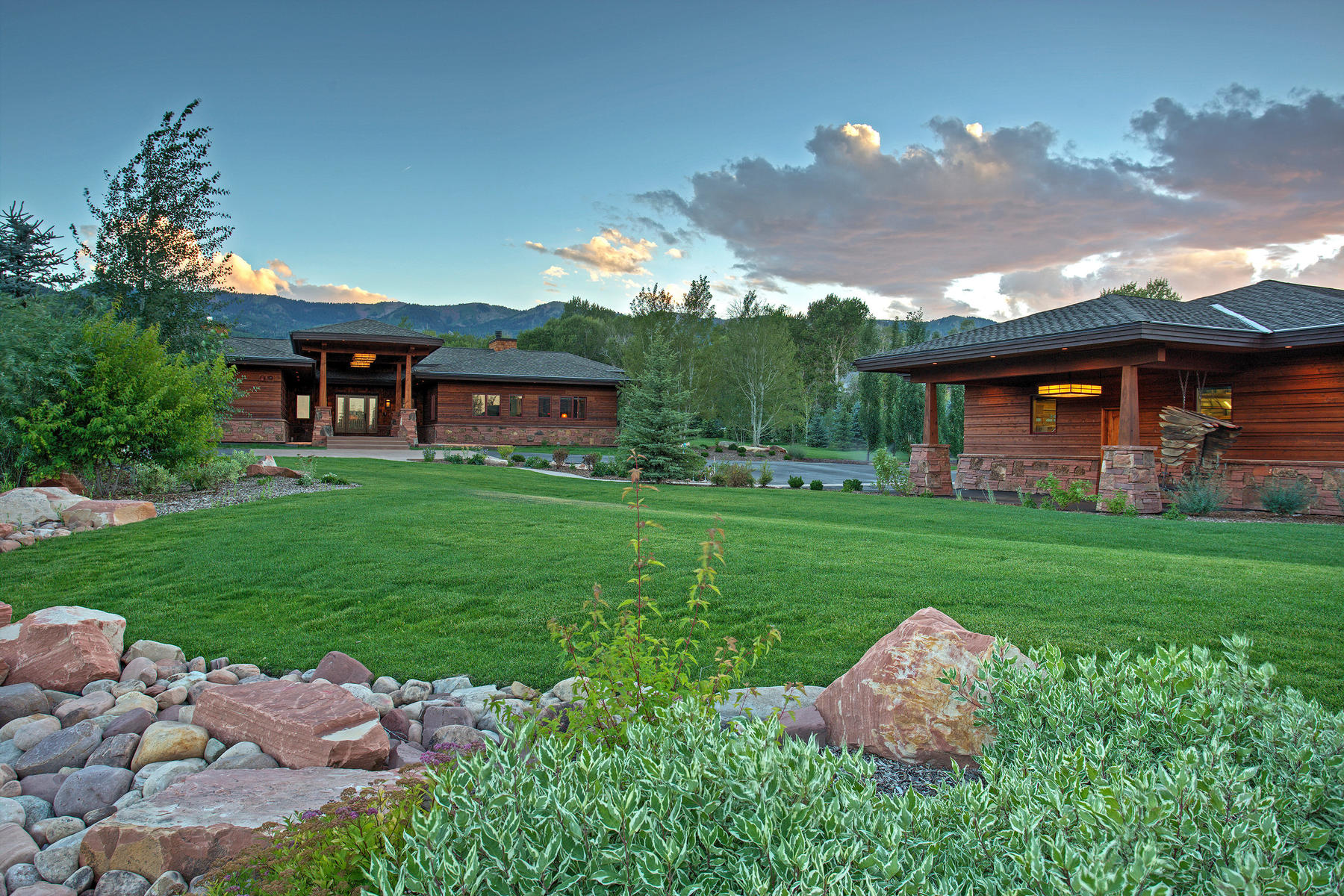 Single Family Home for Sale at Old Ranch Road Sanctuary with Guest Home 4275 Quarry Mountain Rd Park City, Utah 84098 United States