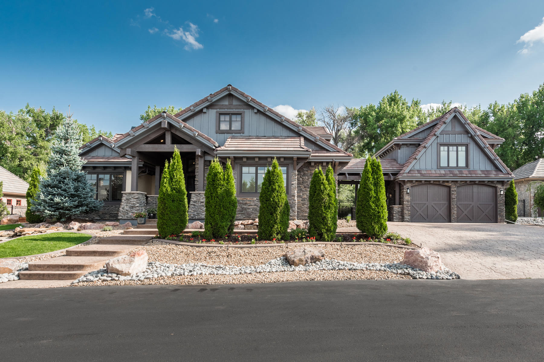 Single Family Home for Active at One Of Only Nine Luxury Residences At The Gated Orr Estates Enclave 1536 E Fair Pl Centennial, Colorado 80121 United States