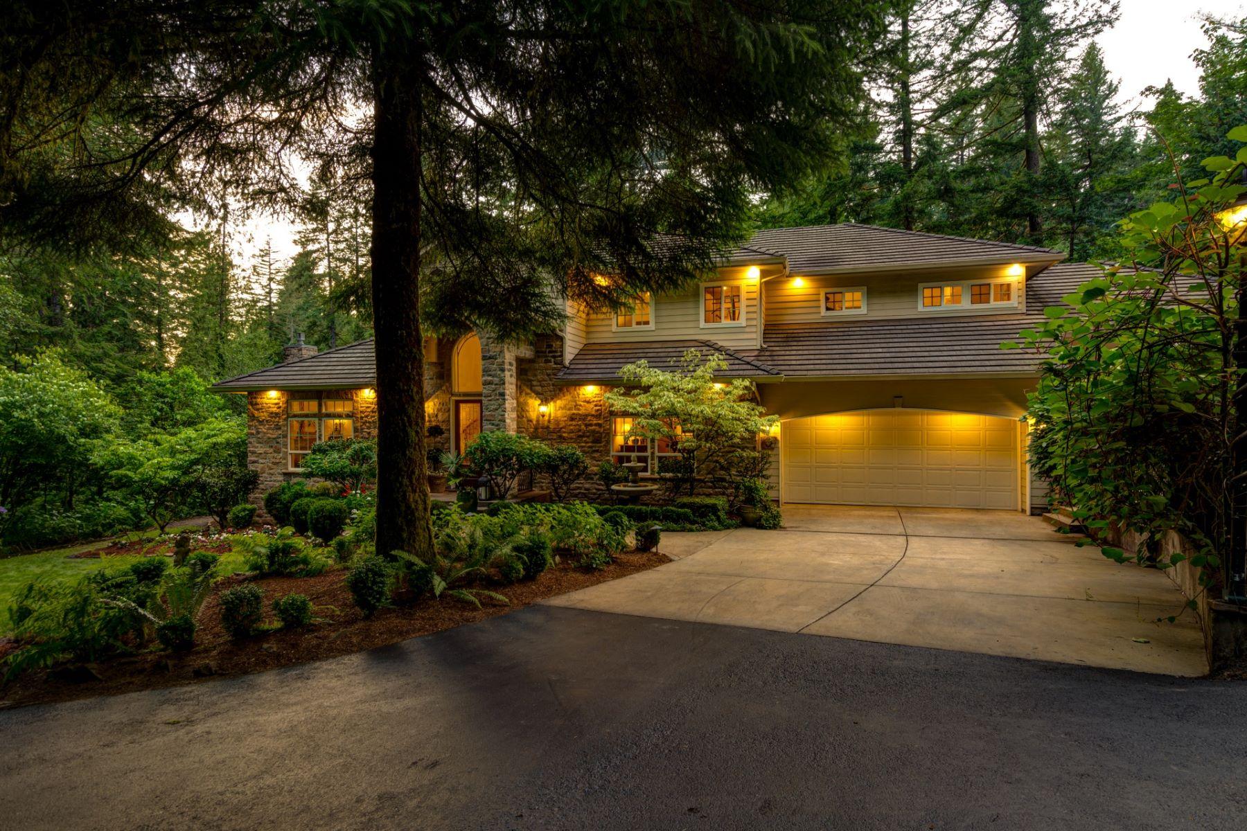 Single Family Homes for Sale at Luxury Riverfront Escape 29903 NE Hantwick Road Yacolt, Washington 98675 United States
