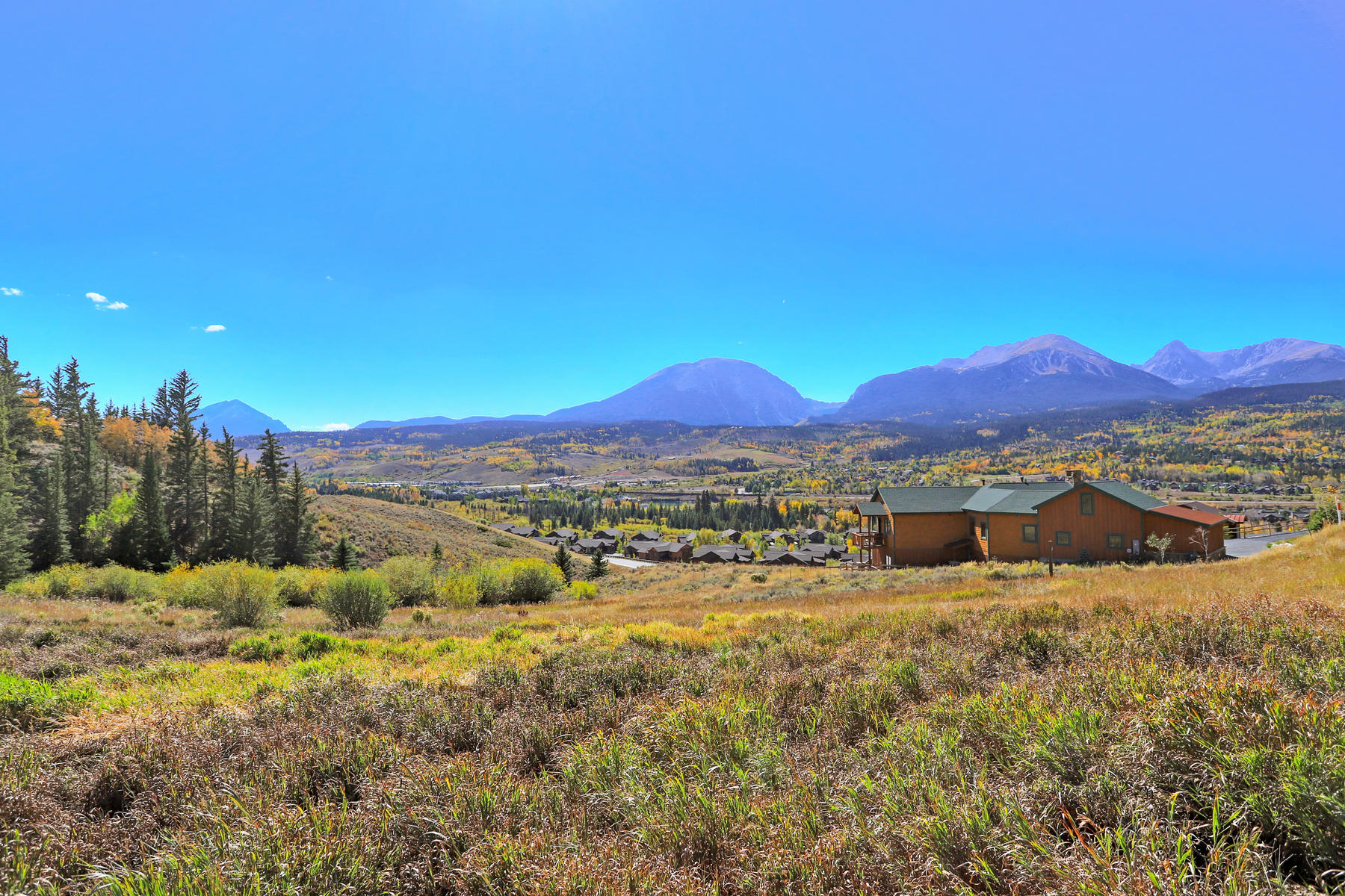 Land for Active at Dream Home Site with Sweeping Mountain Views 968 Bald Eagle Road Silverthorne, Colorado 80498 United States