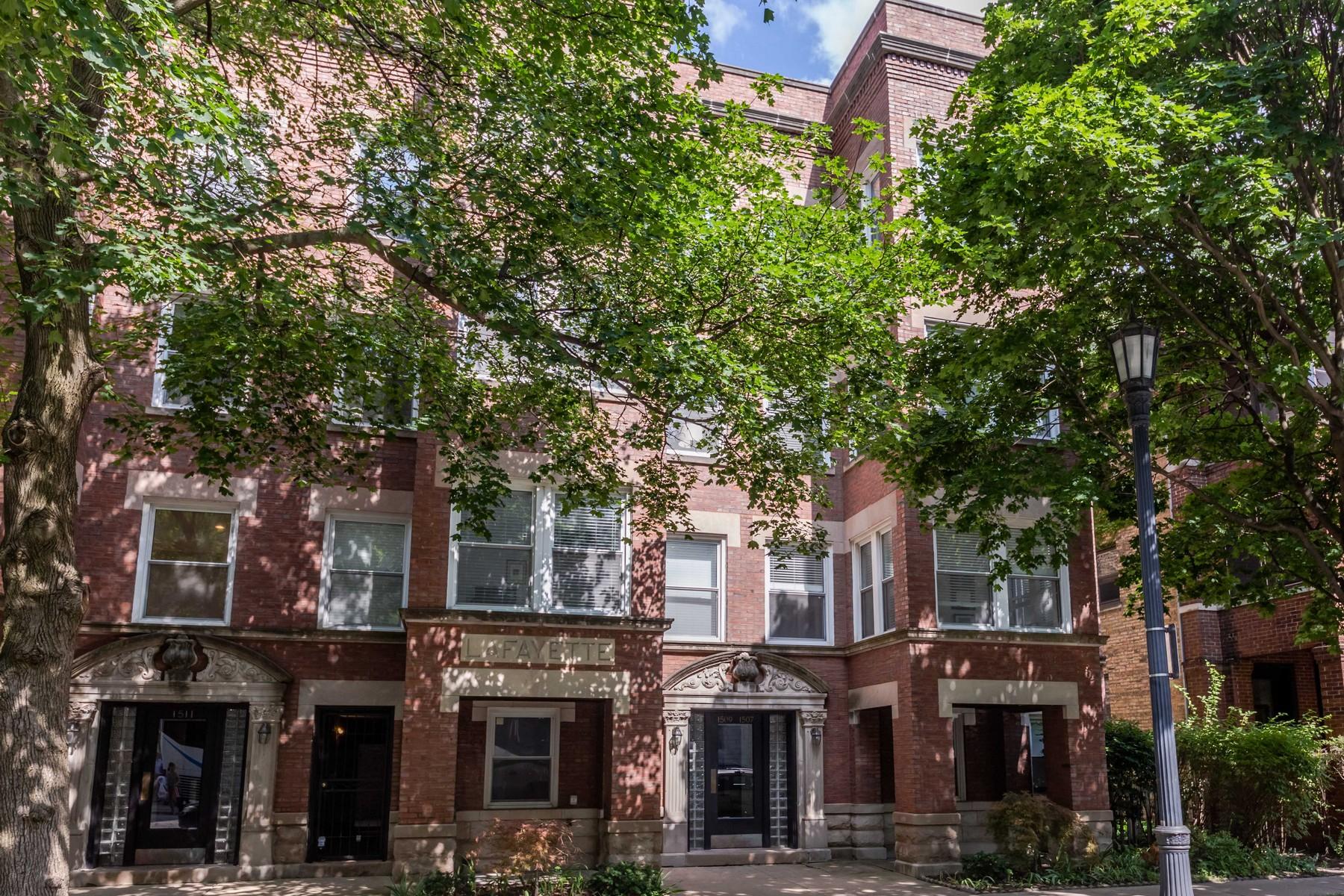 Condominium for Sale at Stunning Condo 1509 Maple Unit 1 Evanston, Illinois 60201 United States