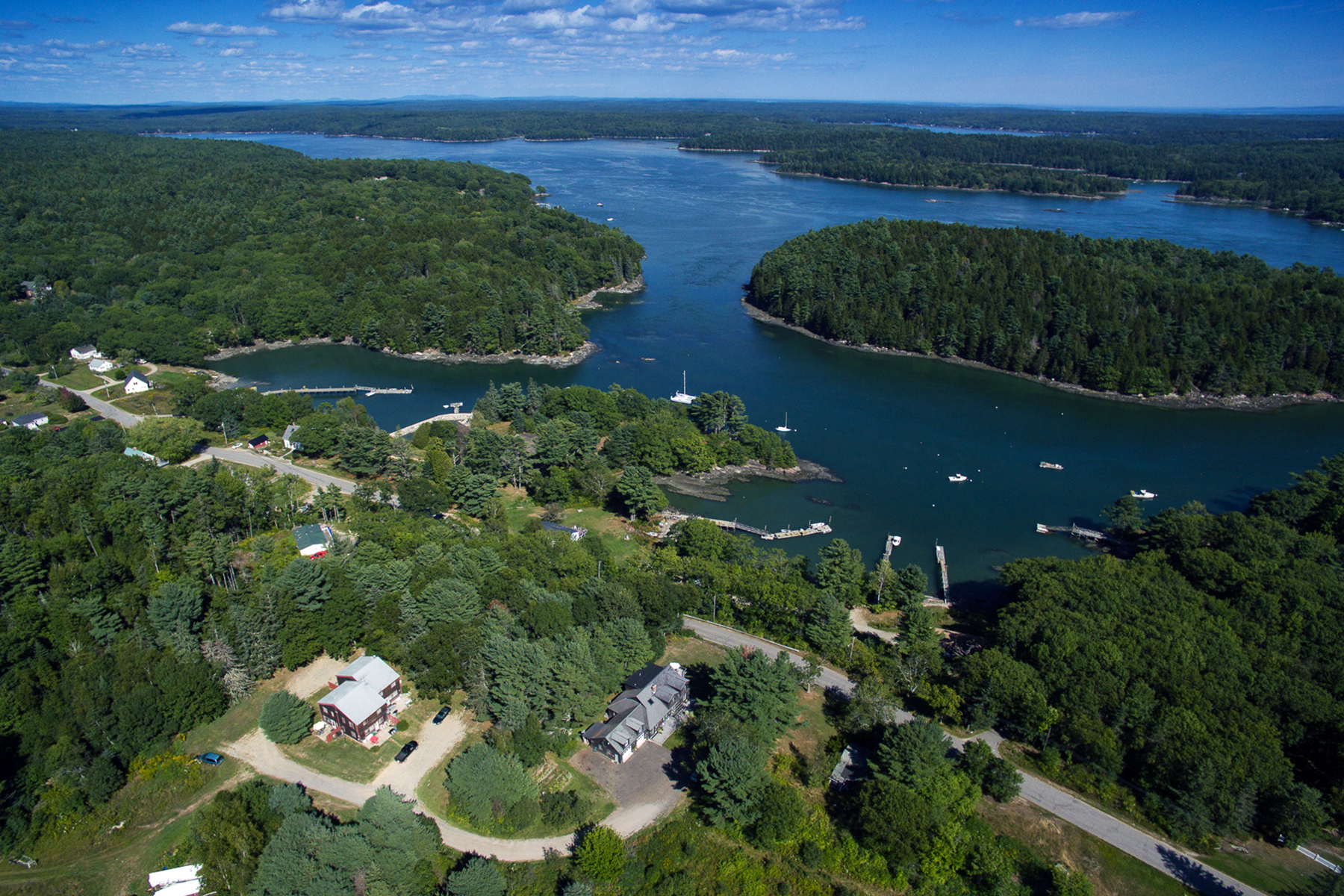 Multi-Family Home for Sale at 5 & 17 Ice Pond Road Boothbay, Maine 04537 United States