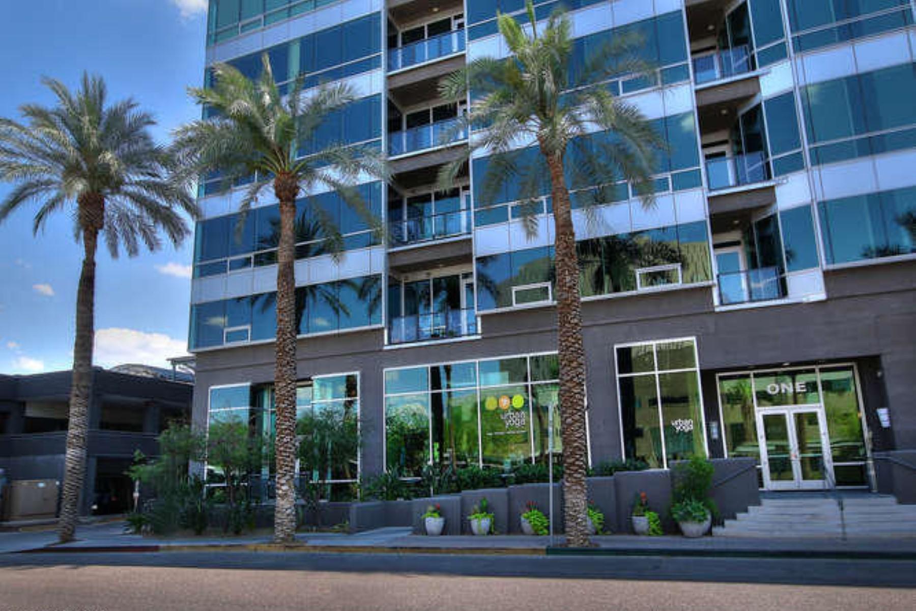 Single Family Home for Sale at Gorgeous northern exposure contemporary loft 1 E LEXINGTON AVE #1307 Phoenix, Arizona, 85012 United States